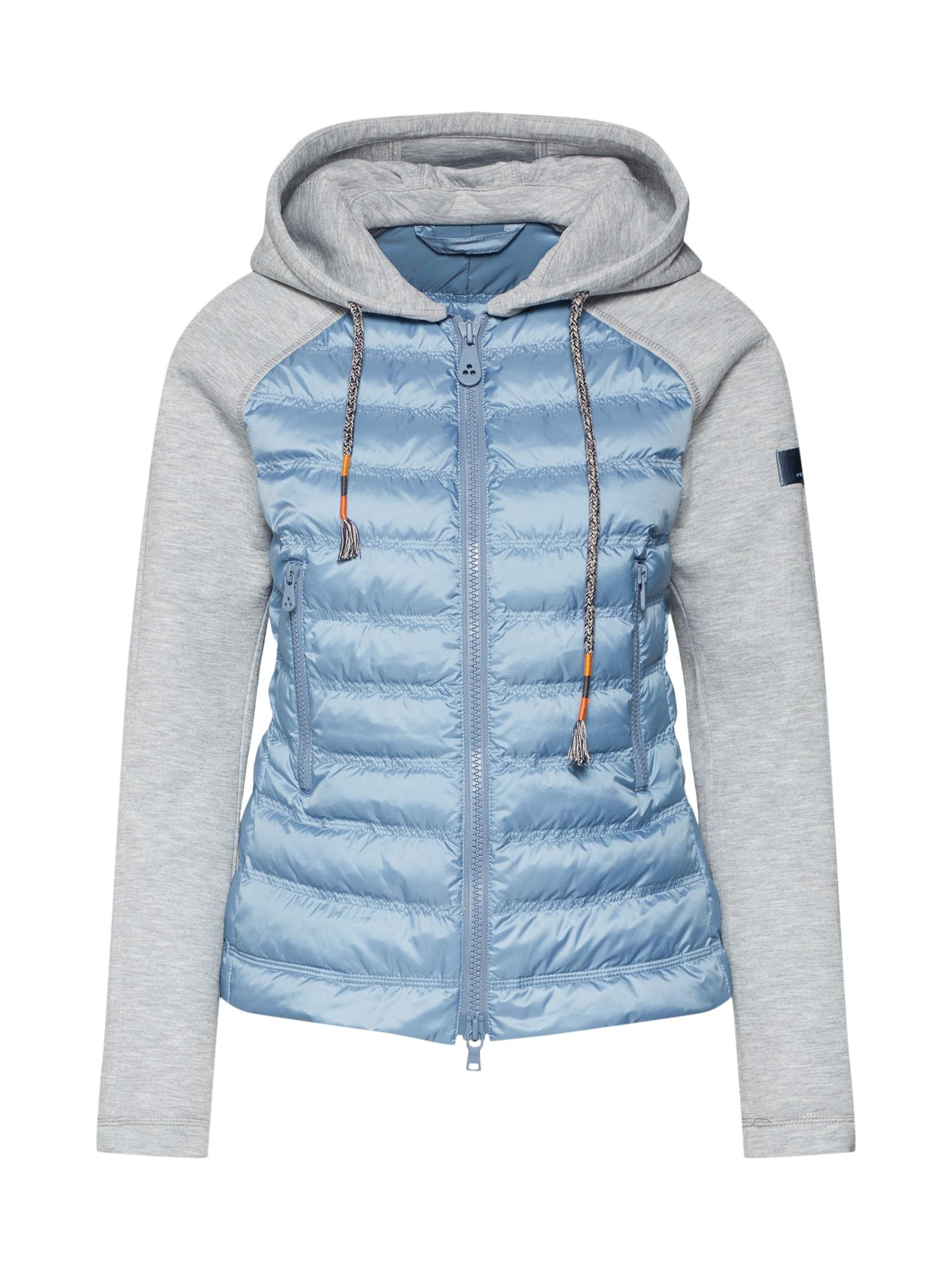 Přechodná bunda PICNIC  modrá šedá Peuterey