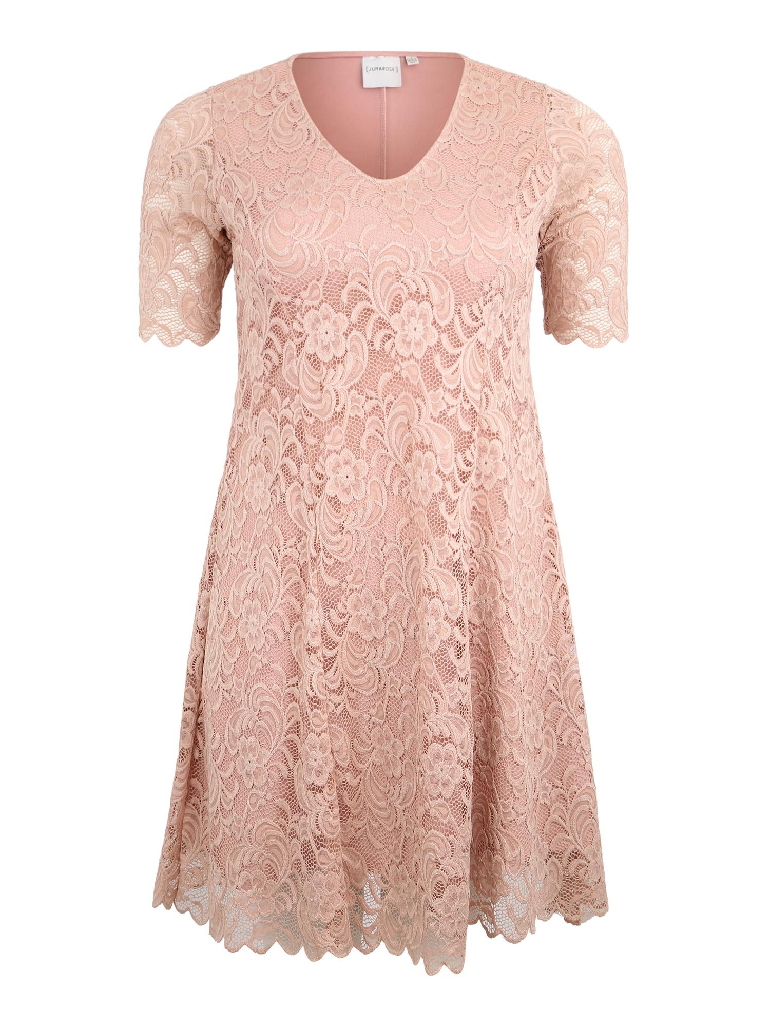 Junarose Sukienka koktajlowa  różany