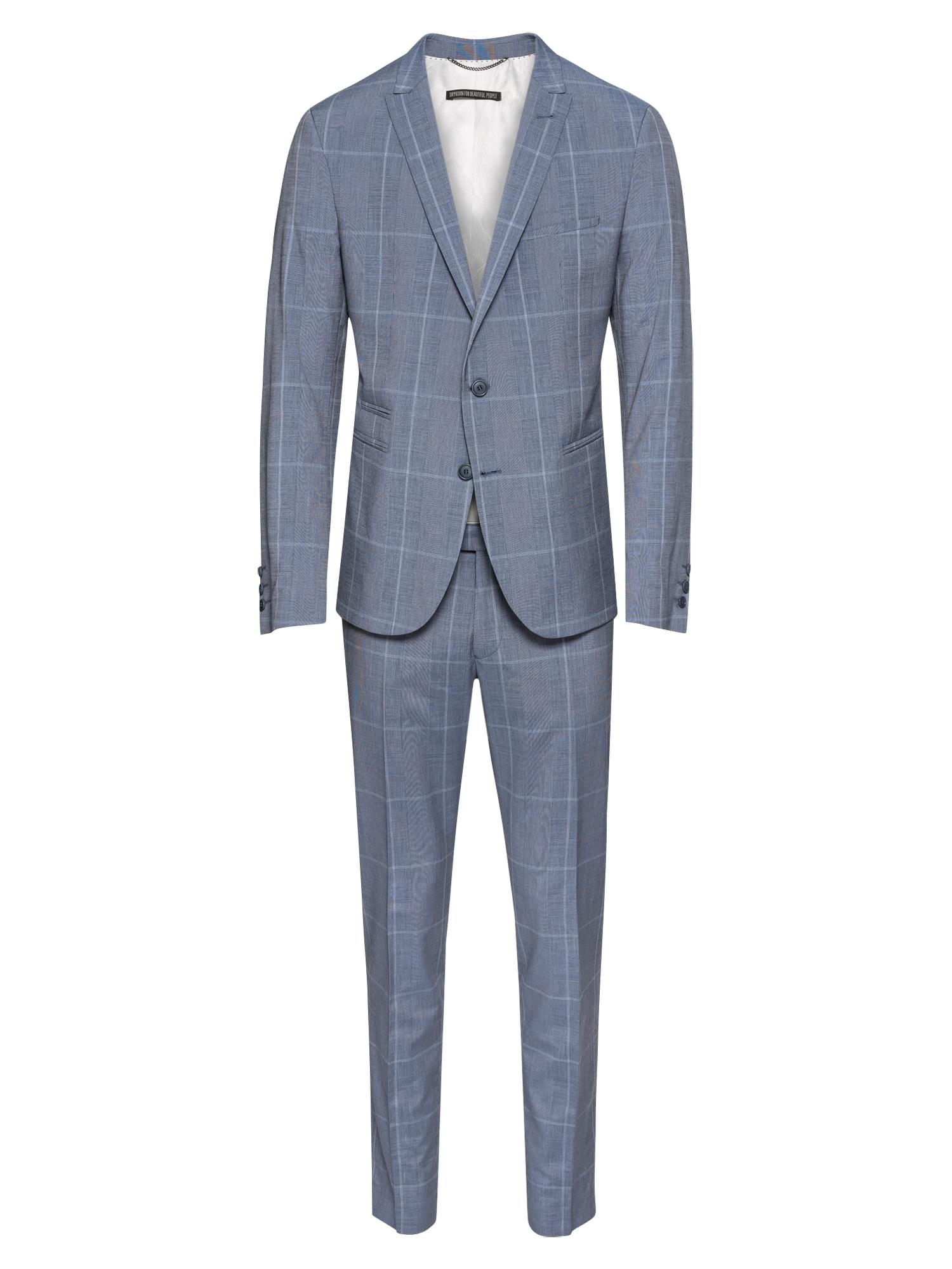 Oblek P-IRVING chladná modrá DRYKORN