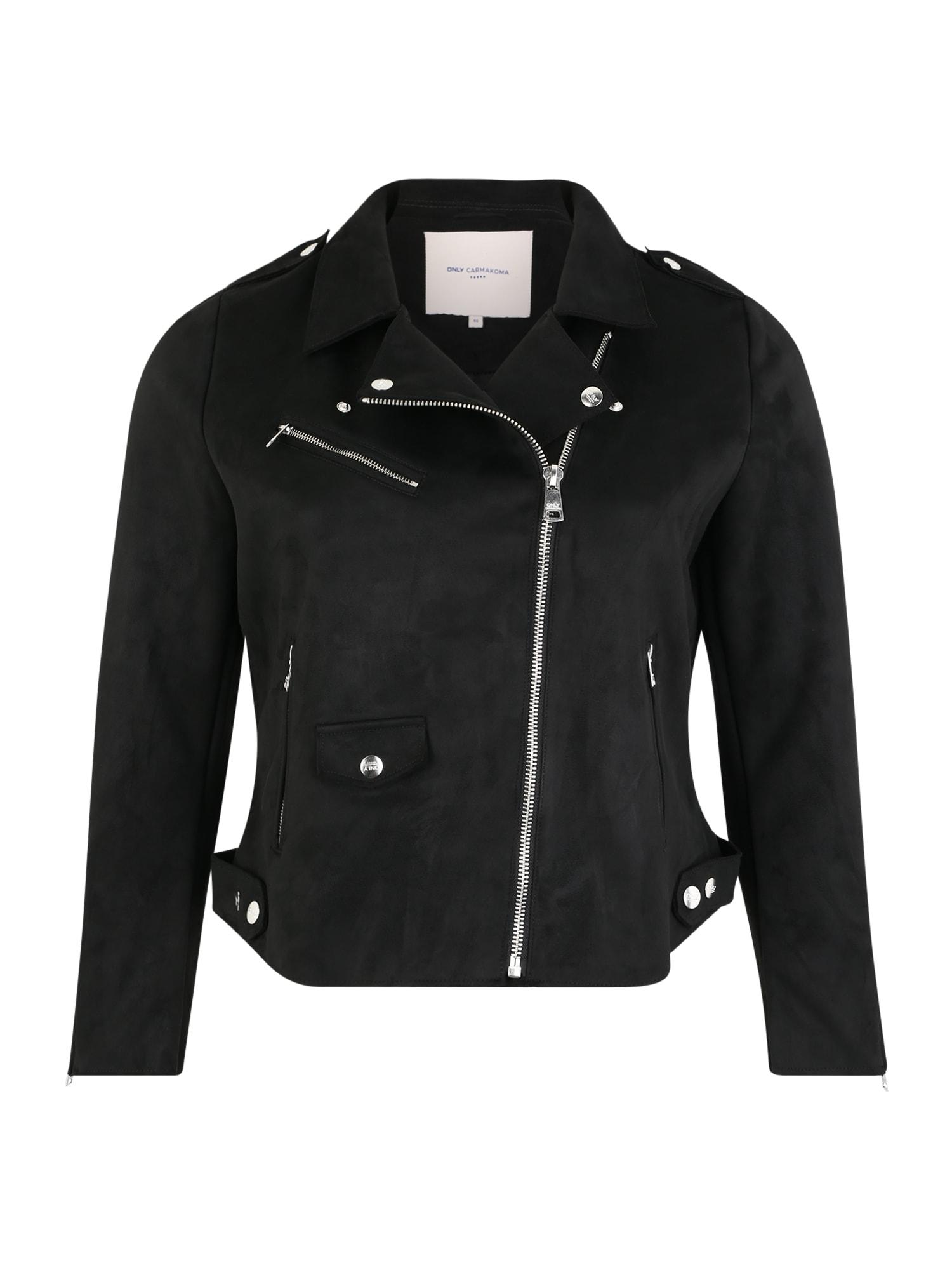 Přechodná bunda černá ONLY Carmakoma