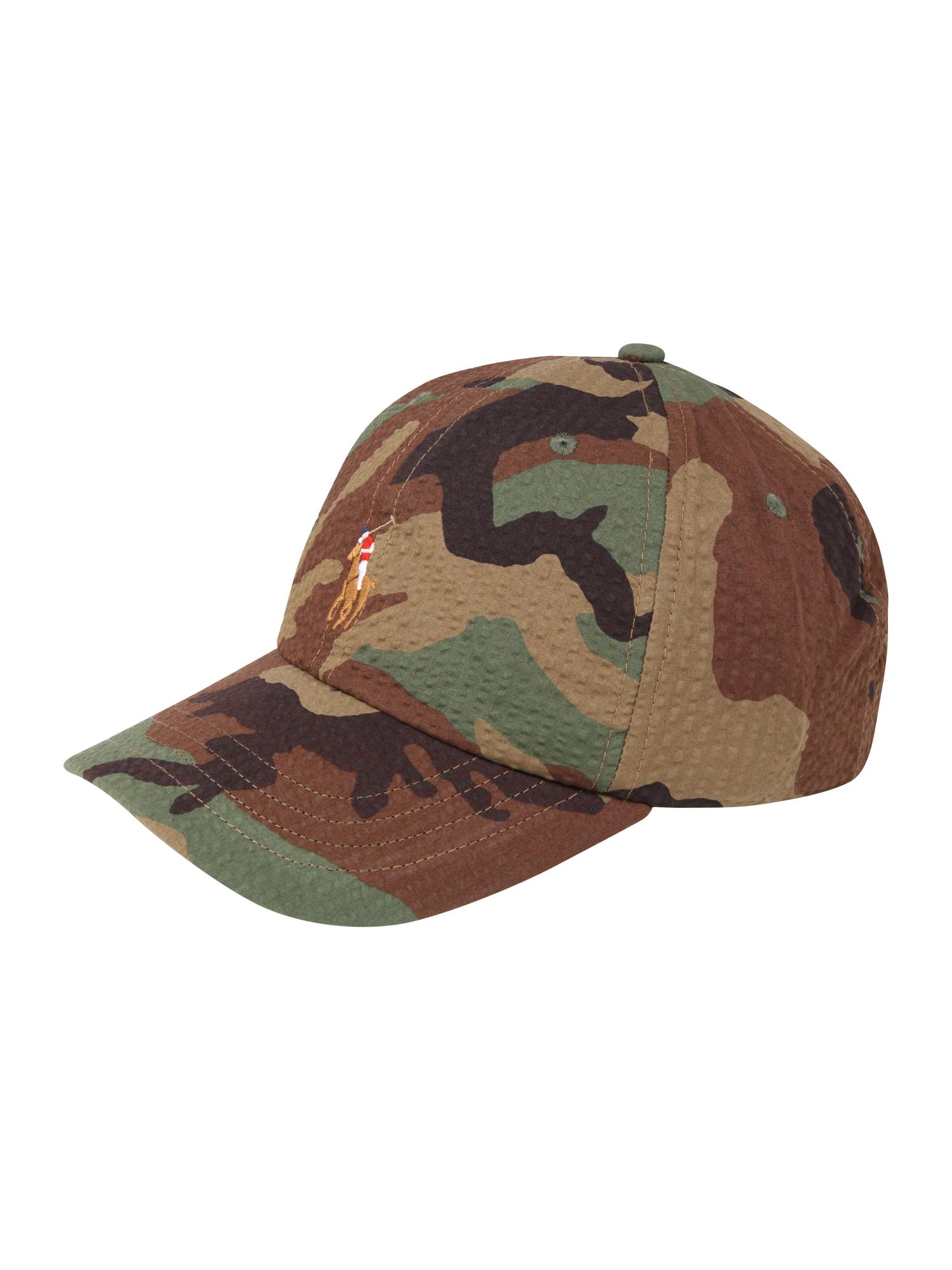 Kšiltovka CLASSIC SPORT CAP zelená POLO RALPH LAUREN