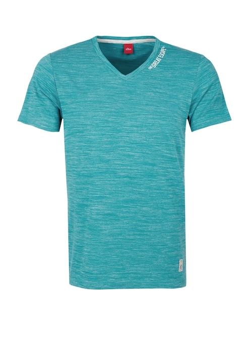 T-Shirt im Melange-Look
