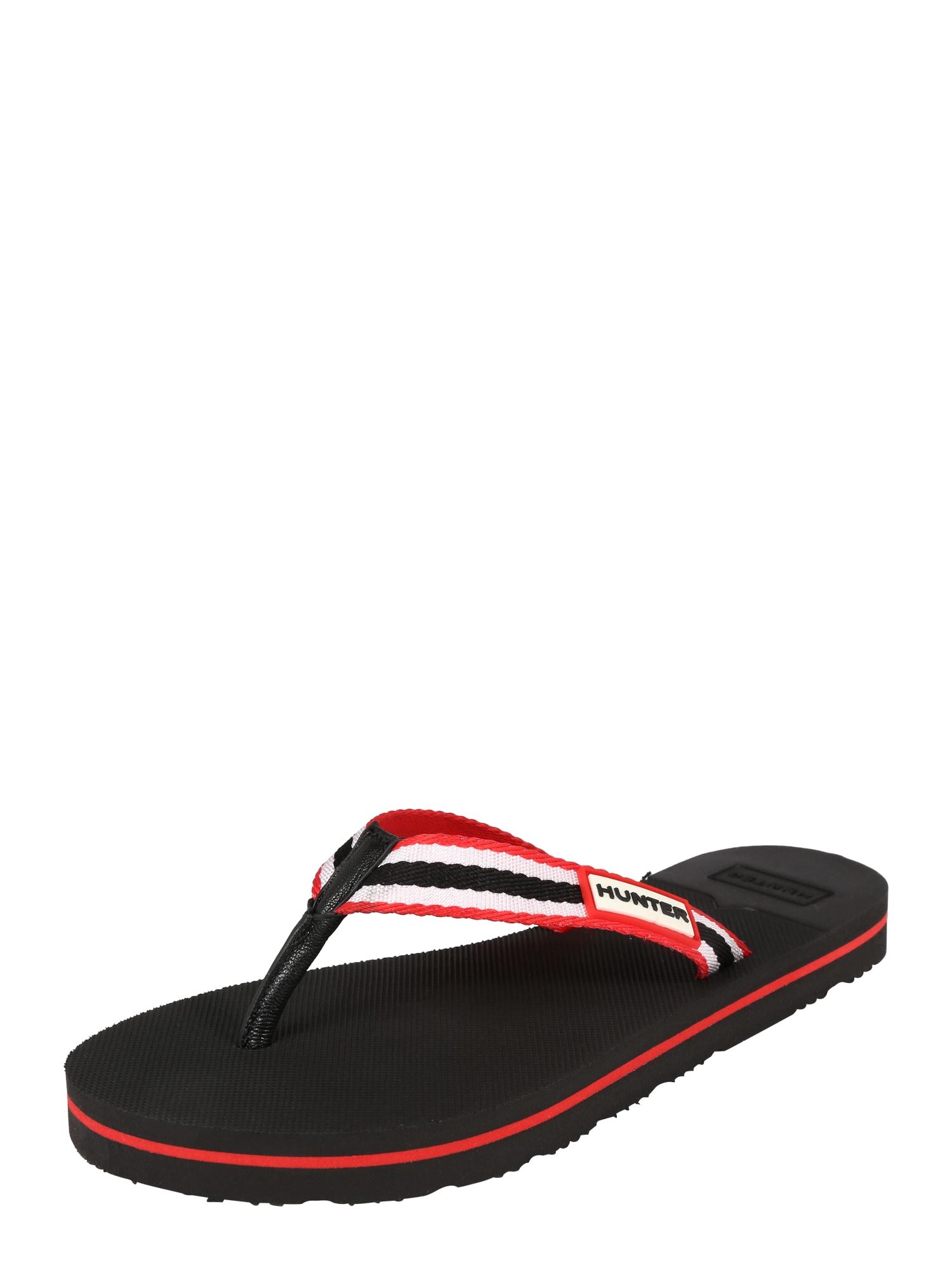 Pantofle černá HUNTER