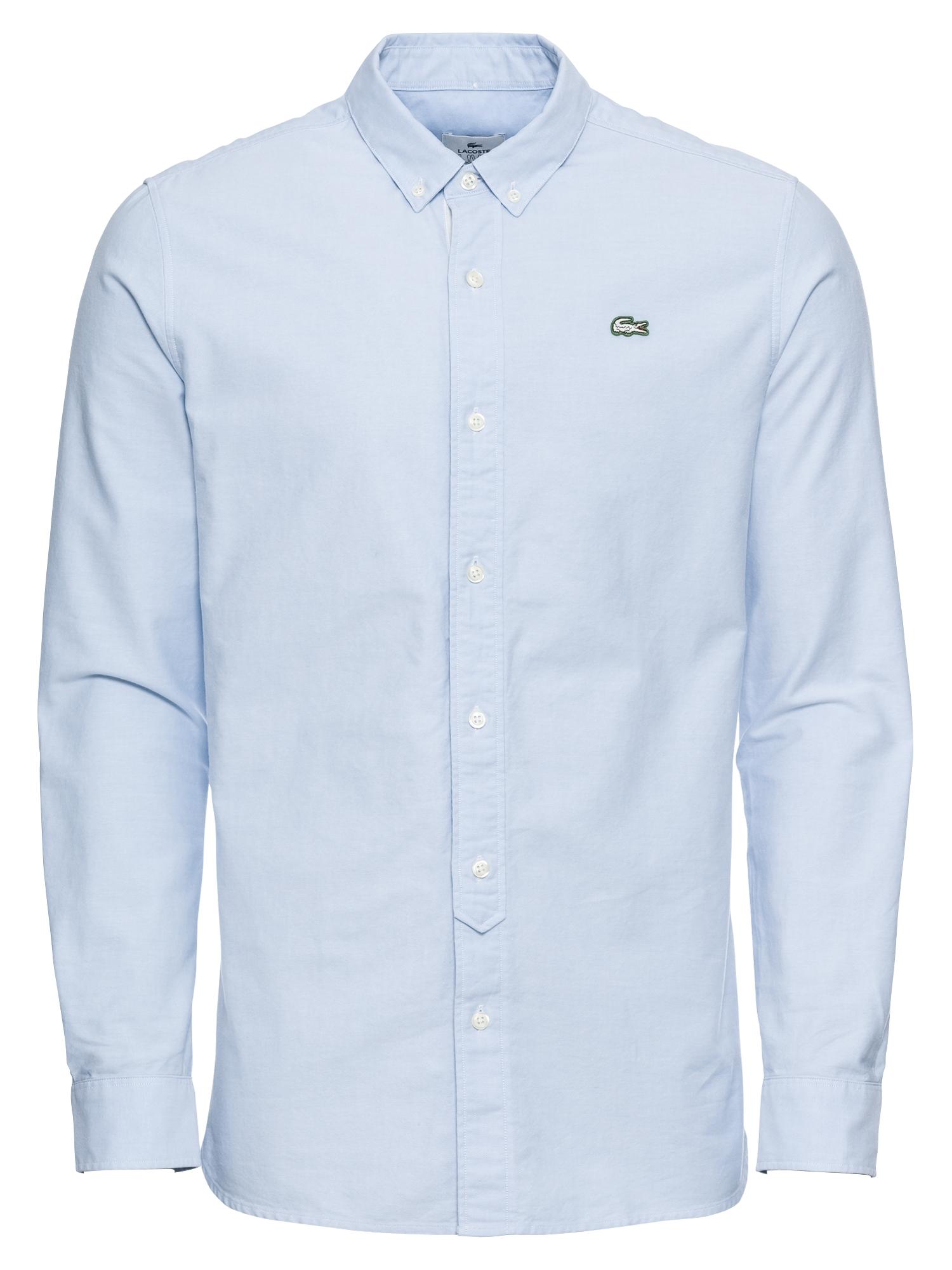 Košile modrá bílá Lacoste LIVE