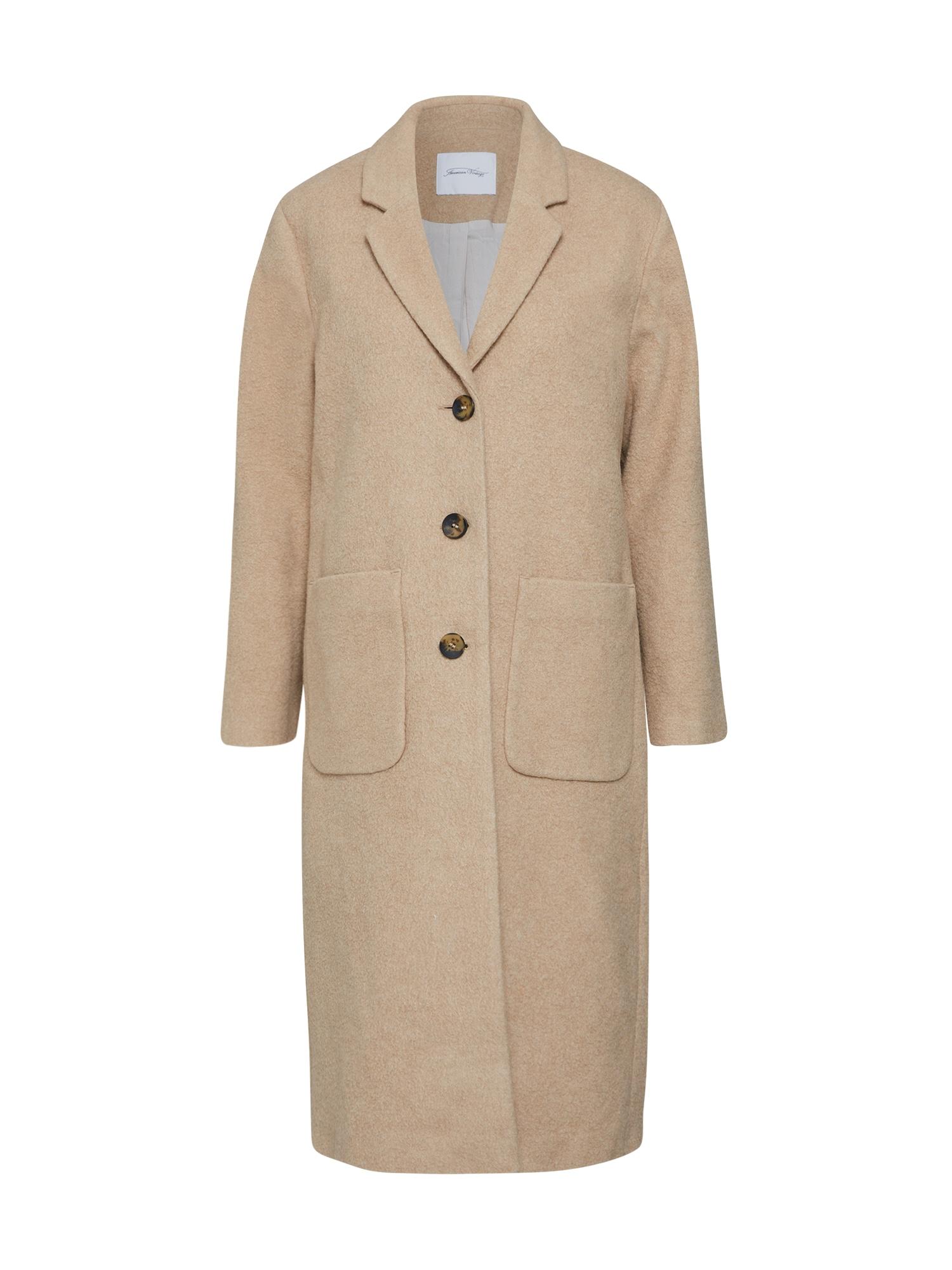 Zimní kabát BEBVALLEY béžová AMERICAN VINTAGE