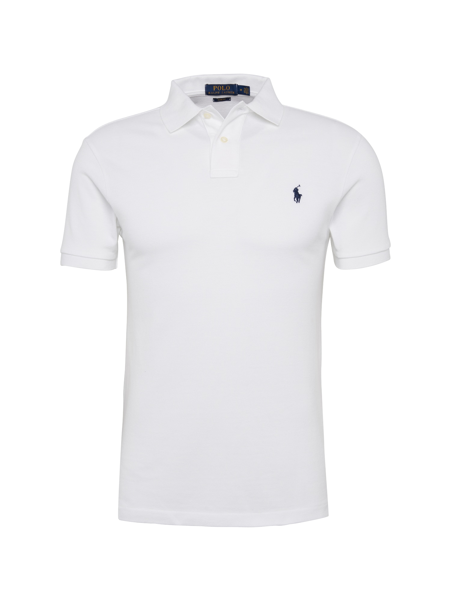 Tričko SS SLIM FIT-SHORT SLEEVE-KNIT bílá POLO RALPH LAUREN