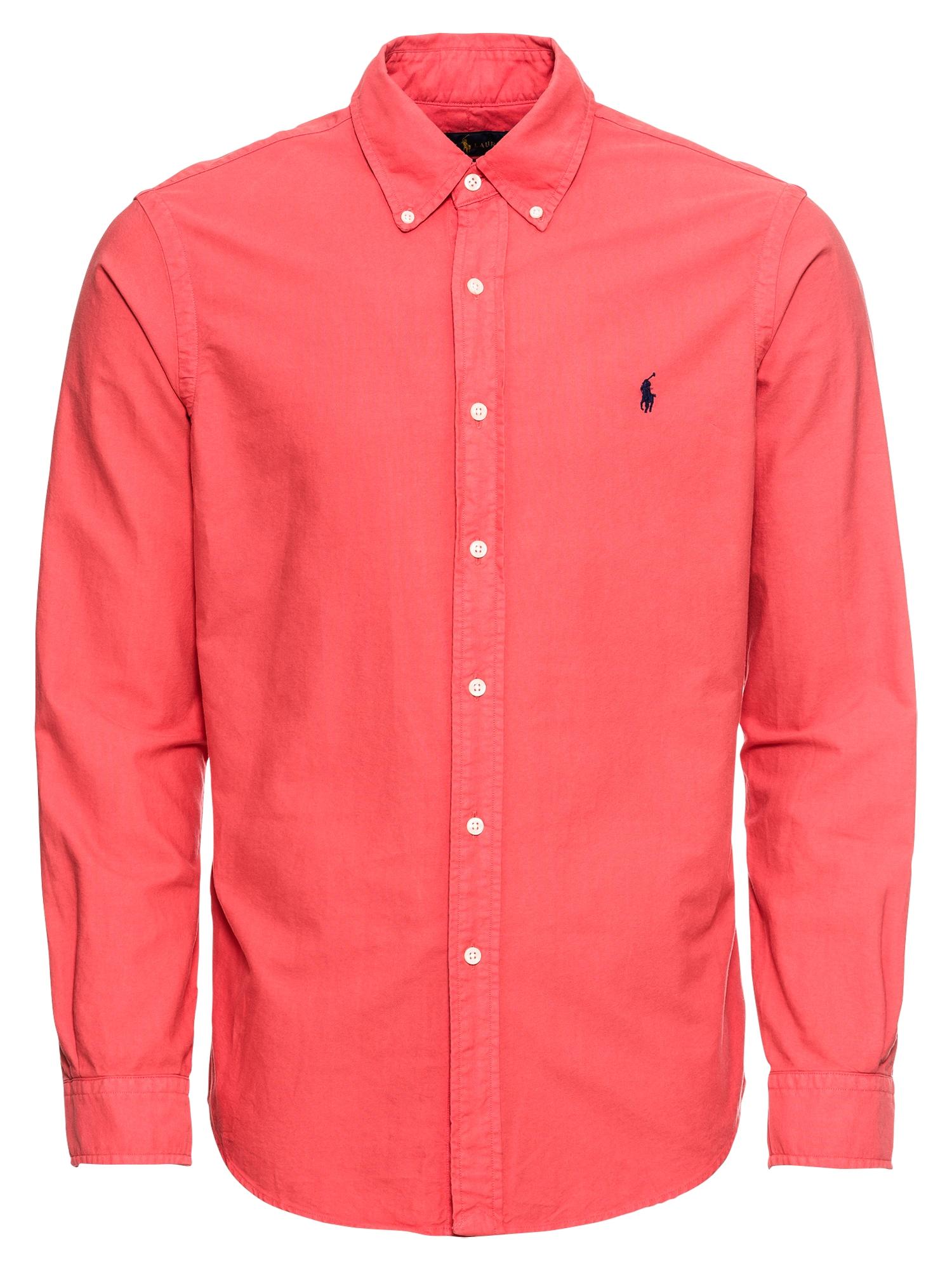 Košile SL BD PPCSPT-LONG červená POLO RALPH LAUREN