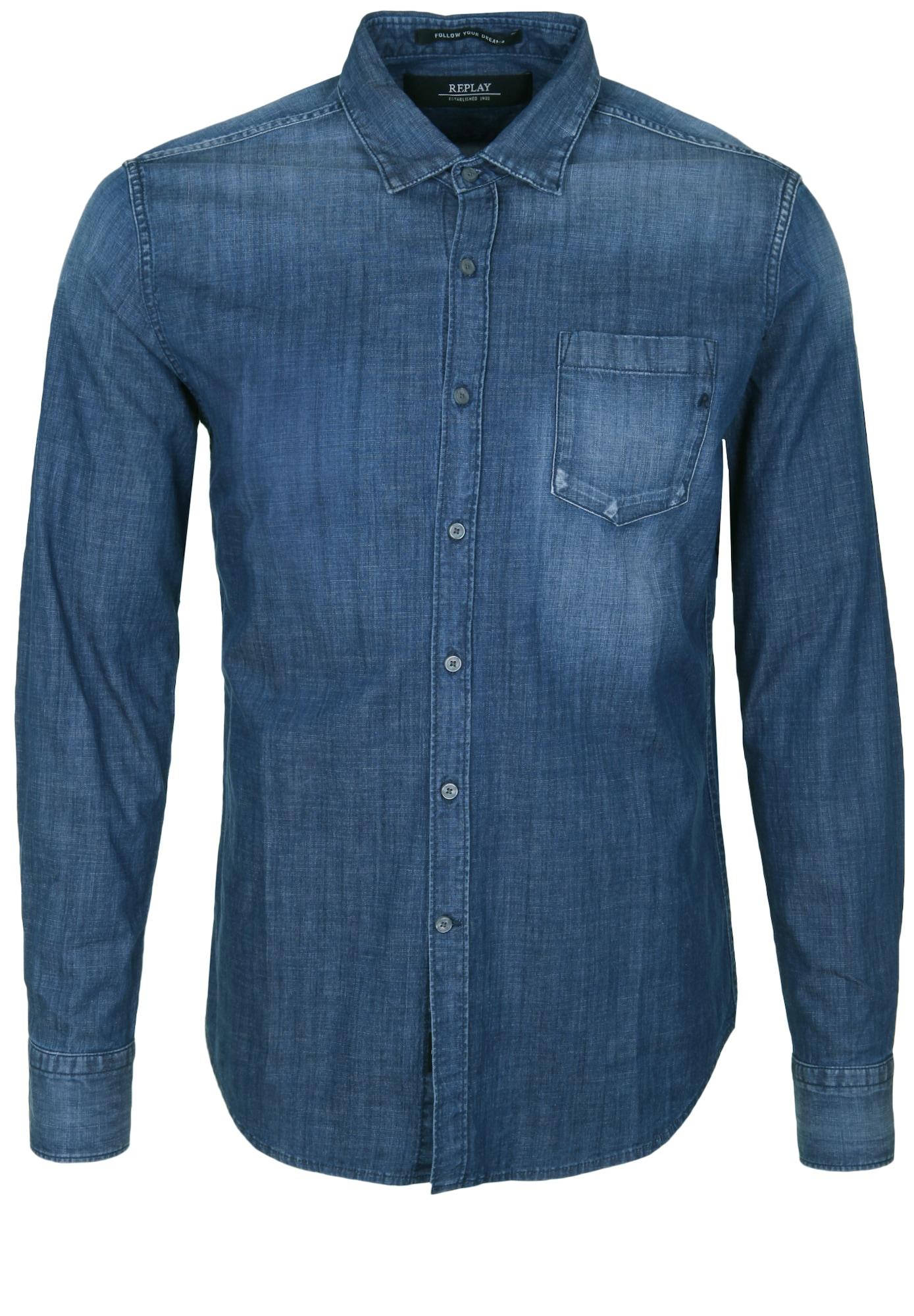 Jeanshemd | Bekleidung > Hemden > Jeanshemden | Replay