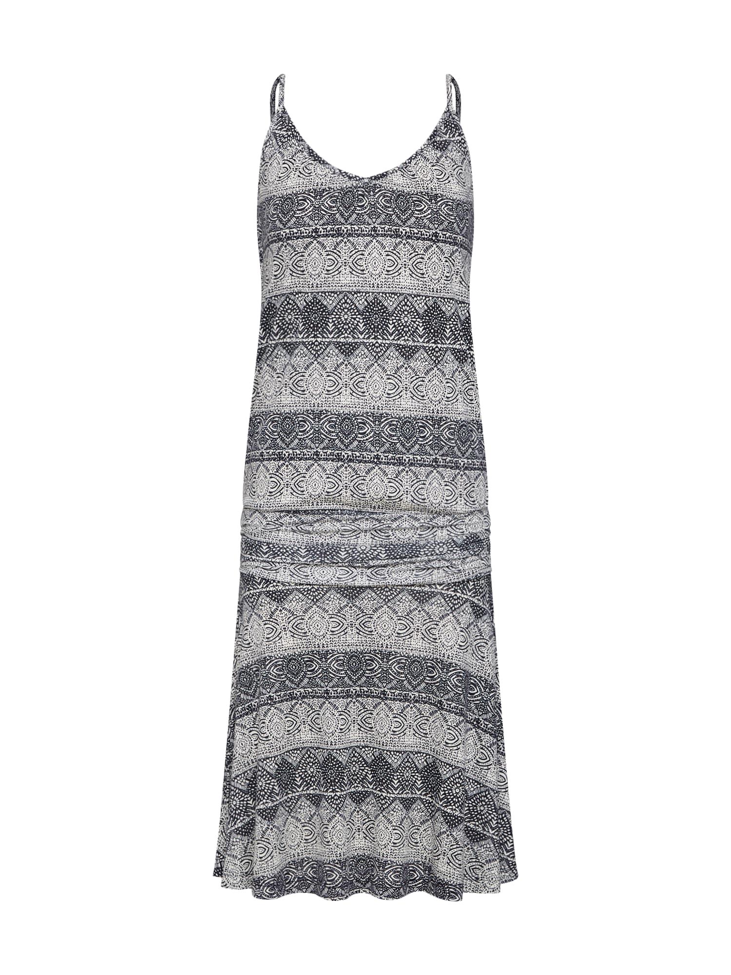 Plážové šaty DR37197C_LS tmavě šedá LASCANA