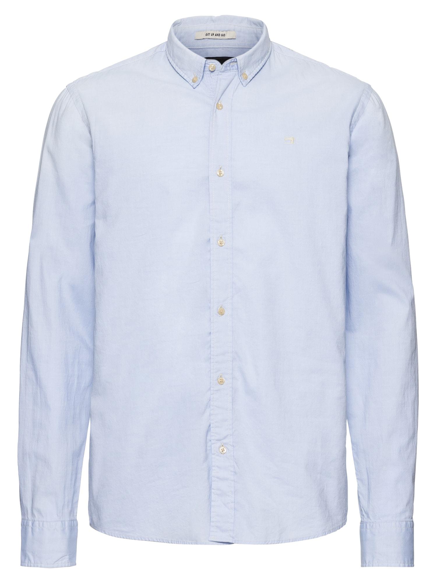 SCOTCH  and  SODA Heren Overhemd REGULAR FIT- Classic oxford shirt lichtblauw