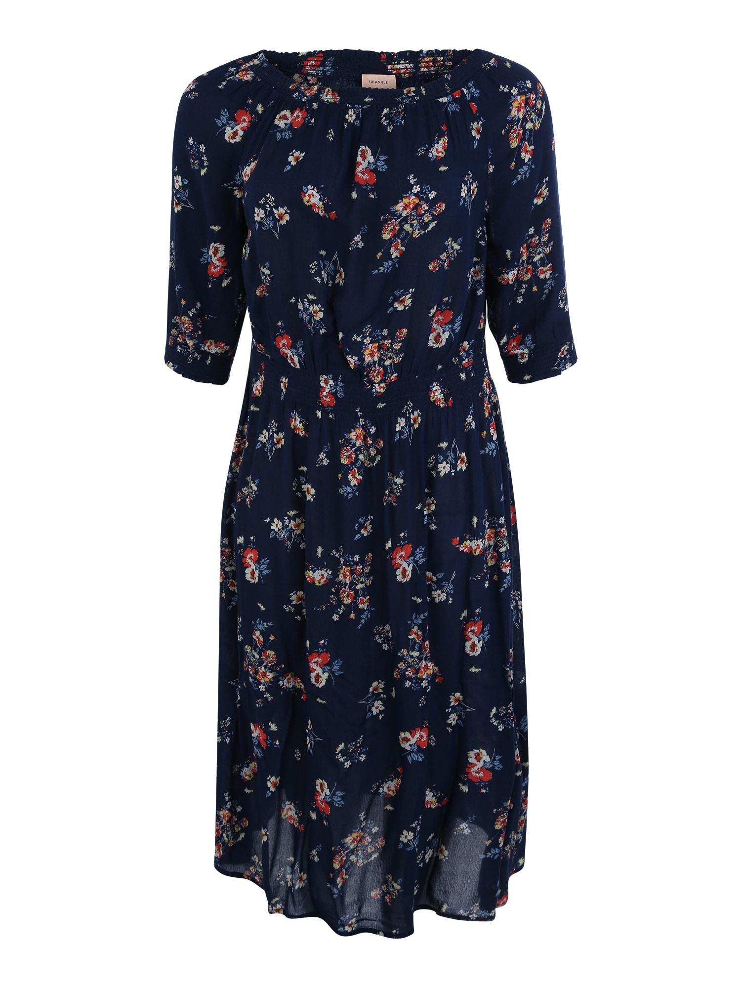 Šaty modrá TRIANGLE