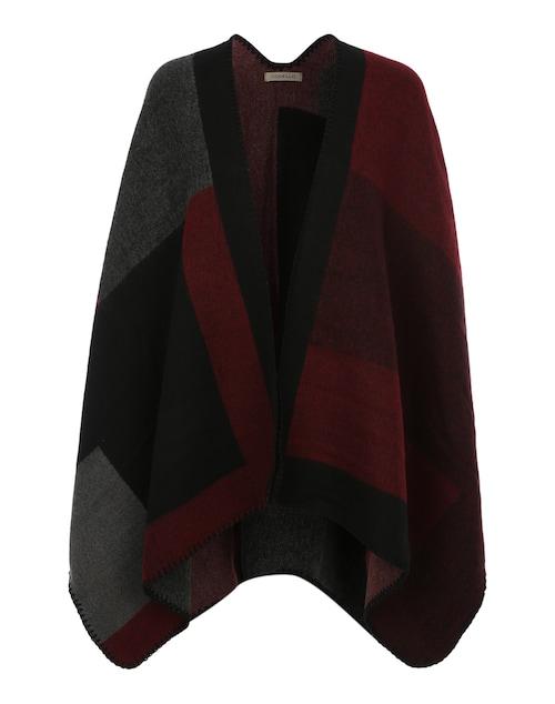 Poncho im Blanket-Stil
