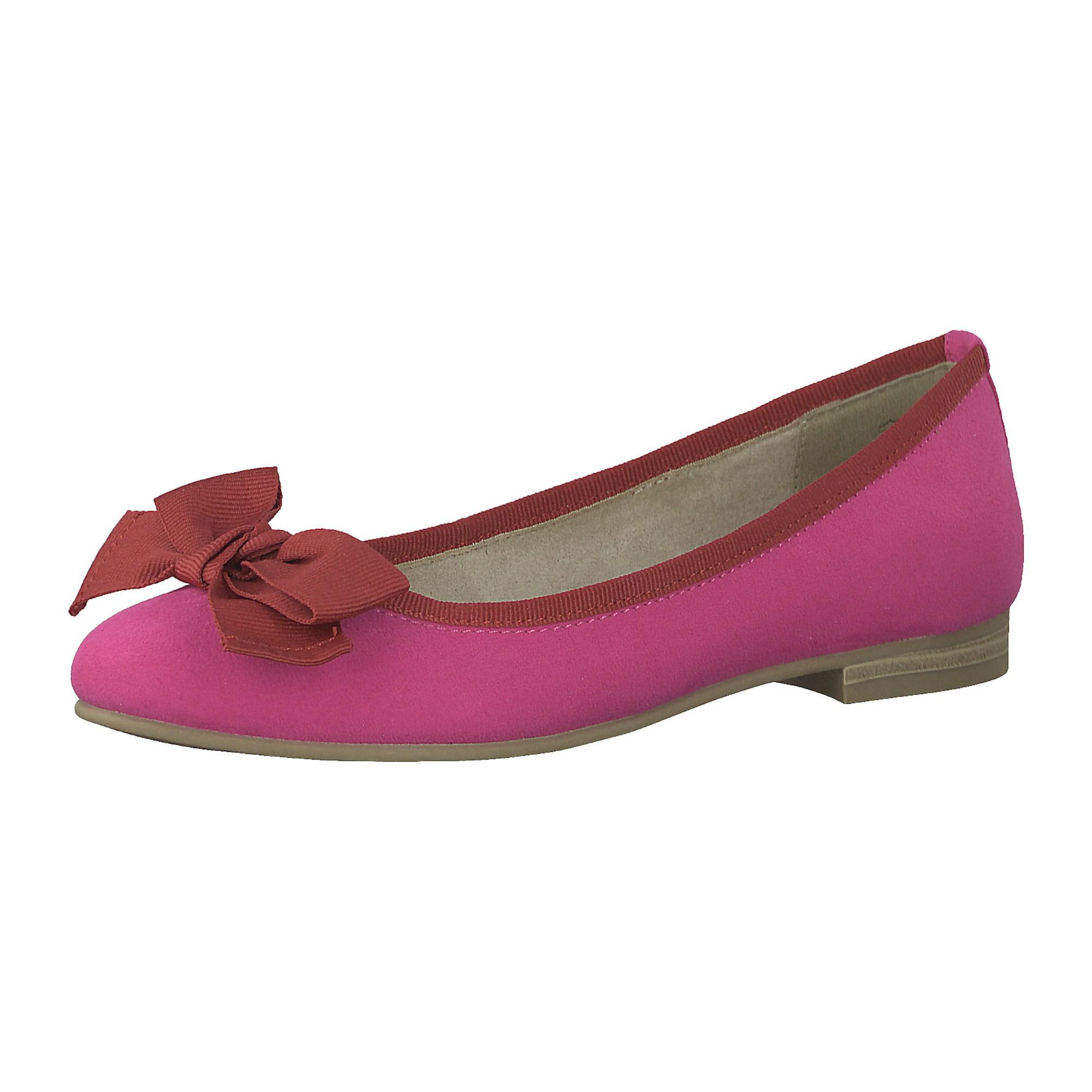 MARCO TOZZI, Dames Ballerina, eosine / pastelrood
