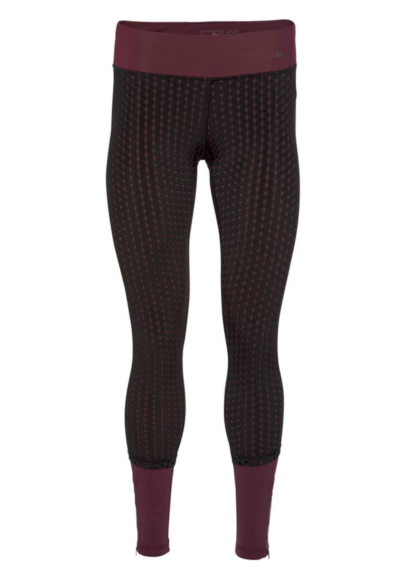 Sportovní kalhoty Luxe bobule černá PUMA