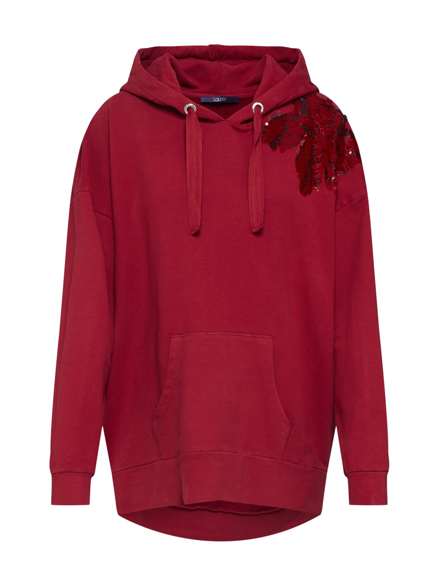 Mikina červená LAUREL