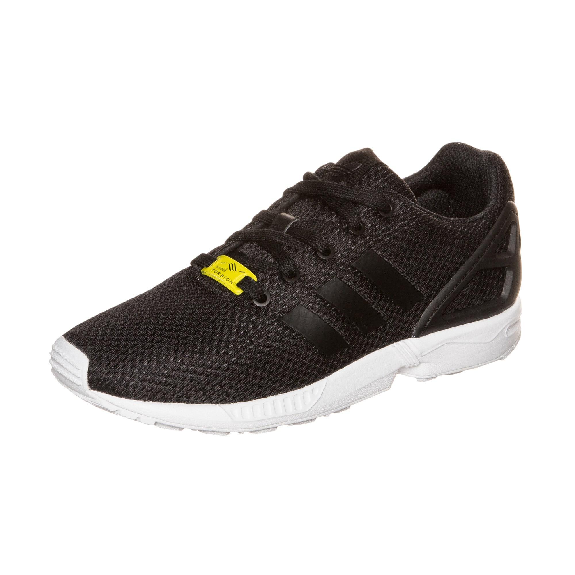 ADIDAS ORIGINALS, Jongens Sneakers 'ZX Flux', geel / zwart