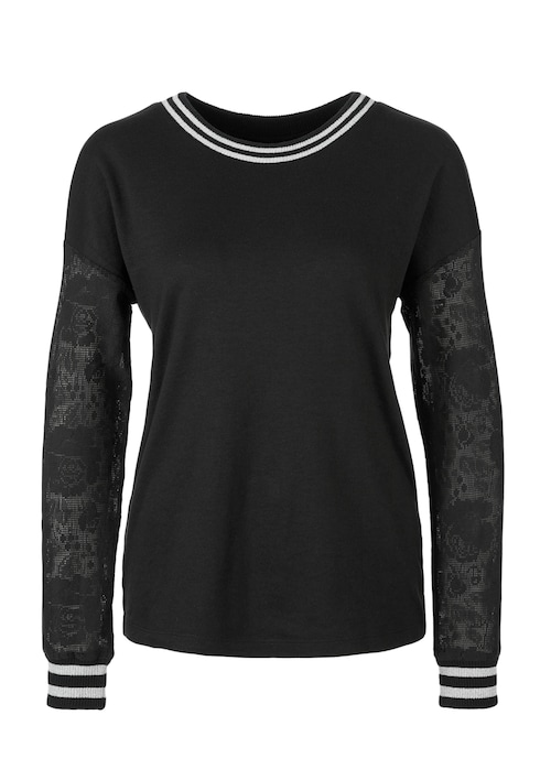 Sporty-Shirt mit Glamour-Faktor