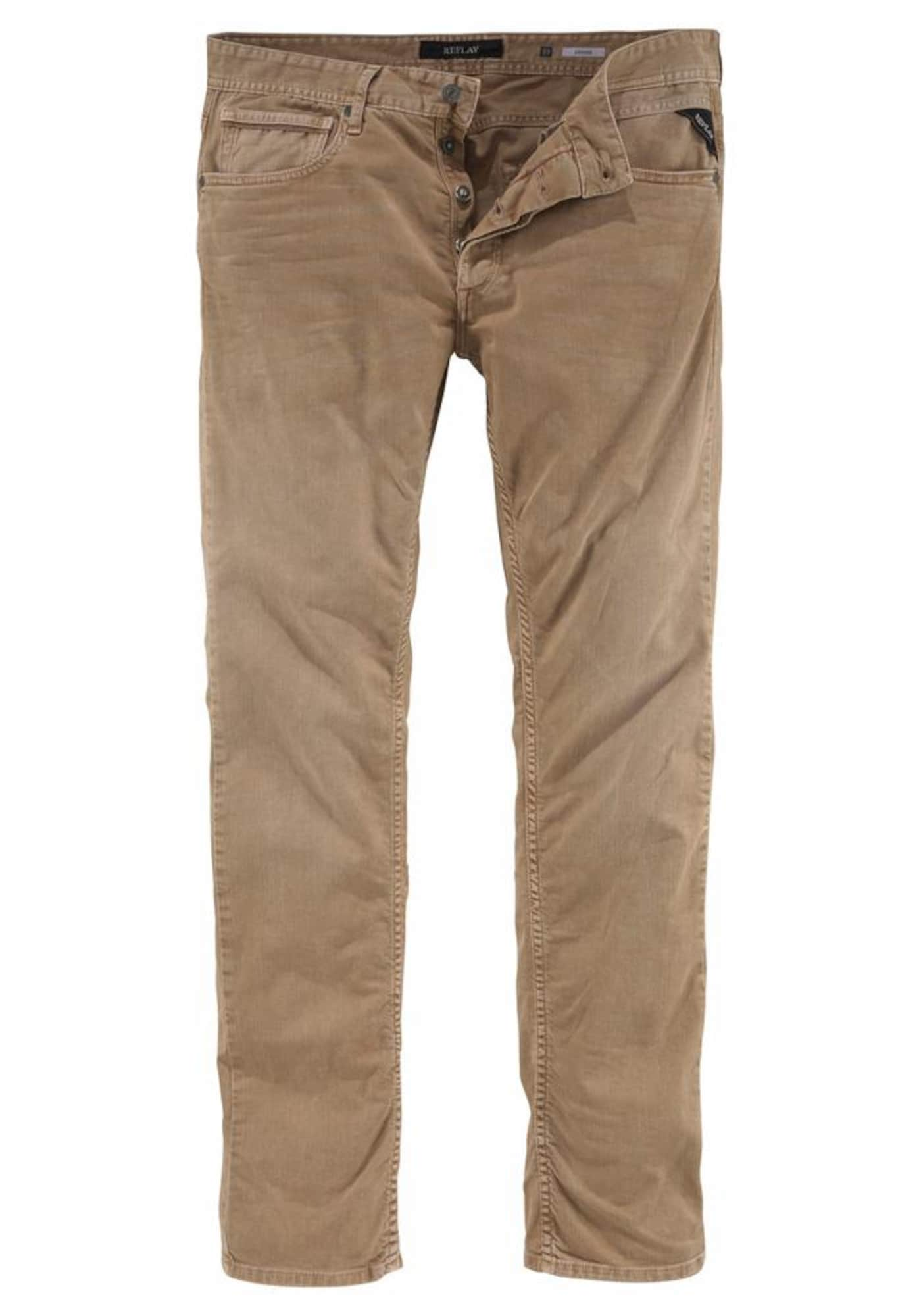REPLAY Heren Jeans Grover sand