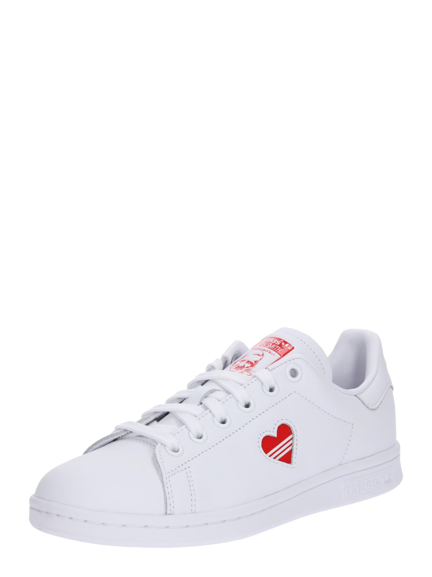 Tenisky Stan Smith červená bílá ADIDAS ORIGINALS