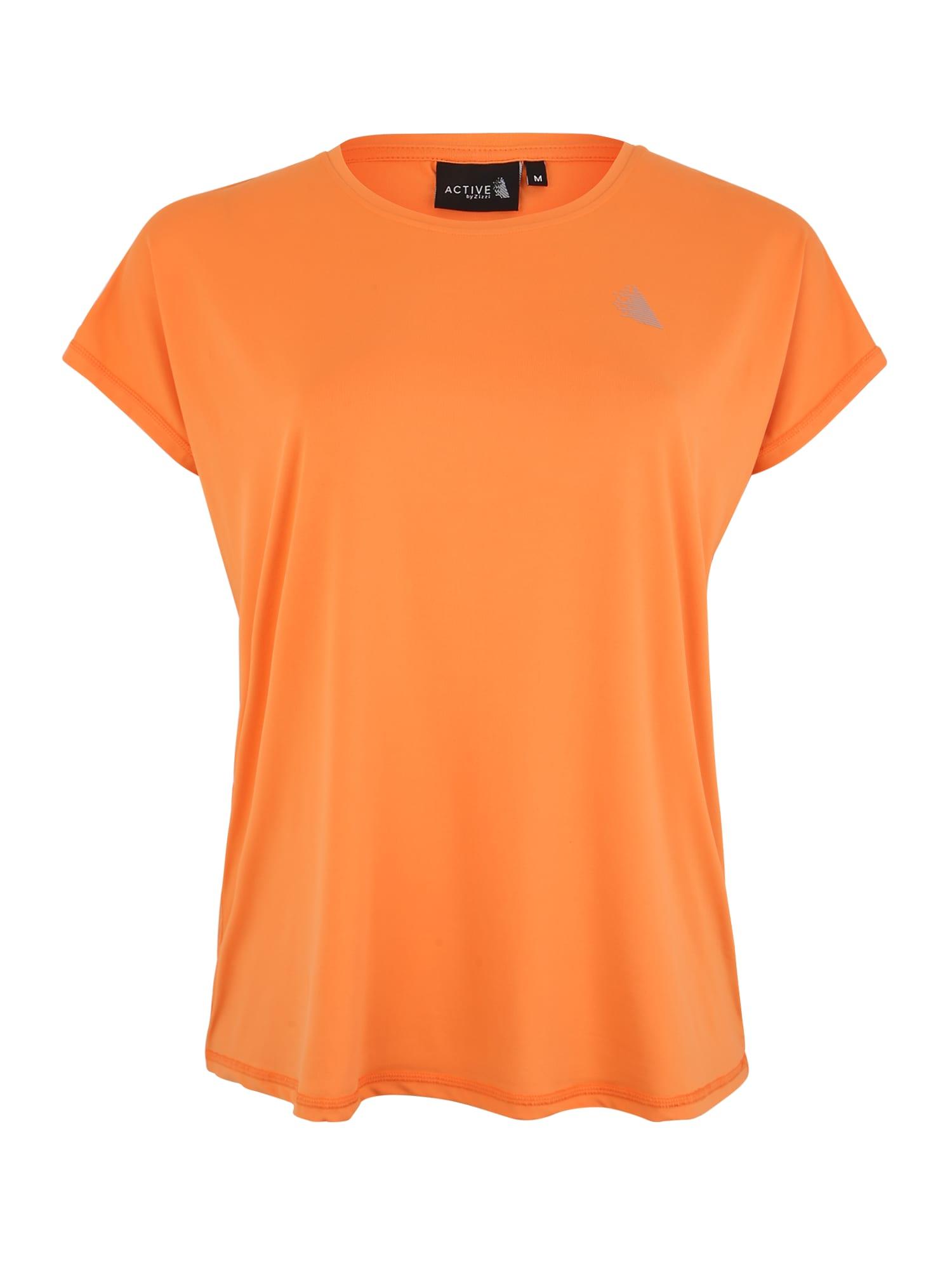 Funkční tričko ABASIC ONE tmavě oranžová Active By Zizzi