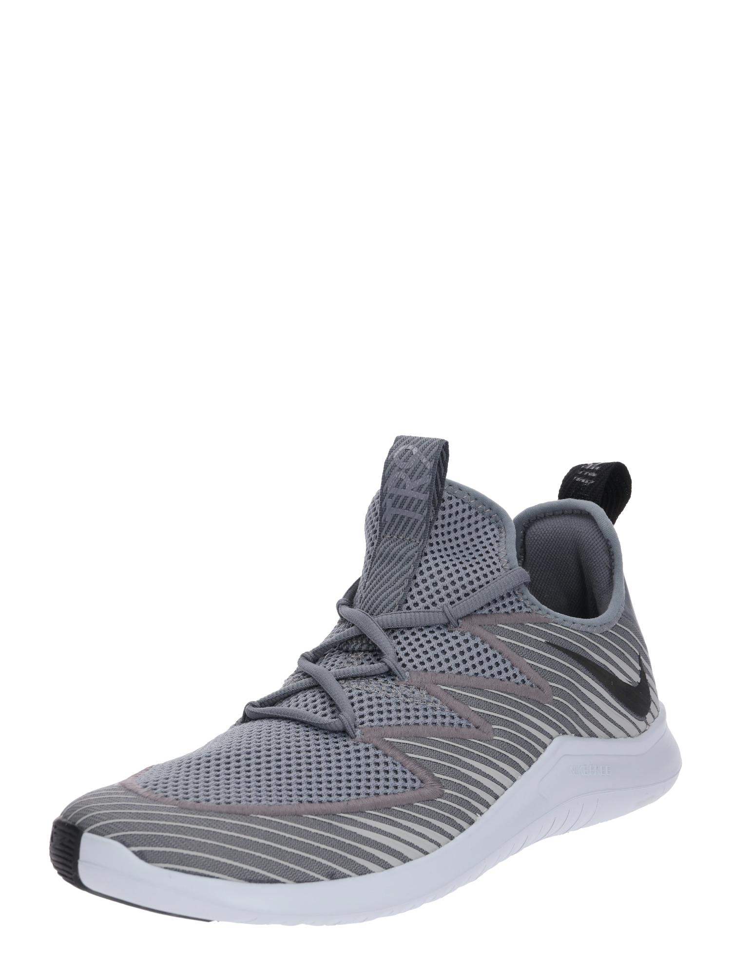 Sportovní boty Free TR 9 šedá bílá NIKE