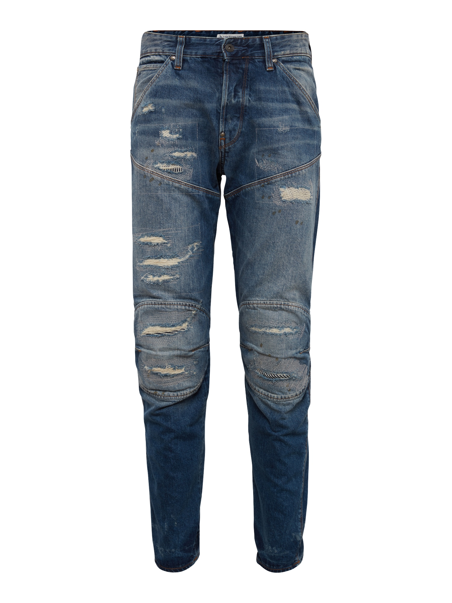 G-STAR RAW Heren Jeans 5620 3D gr Tapered blue denim