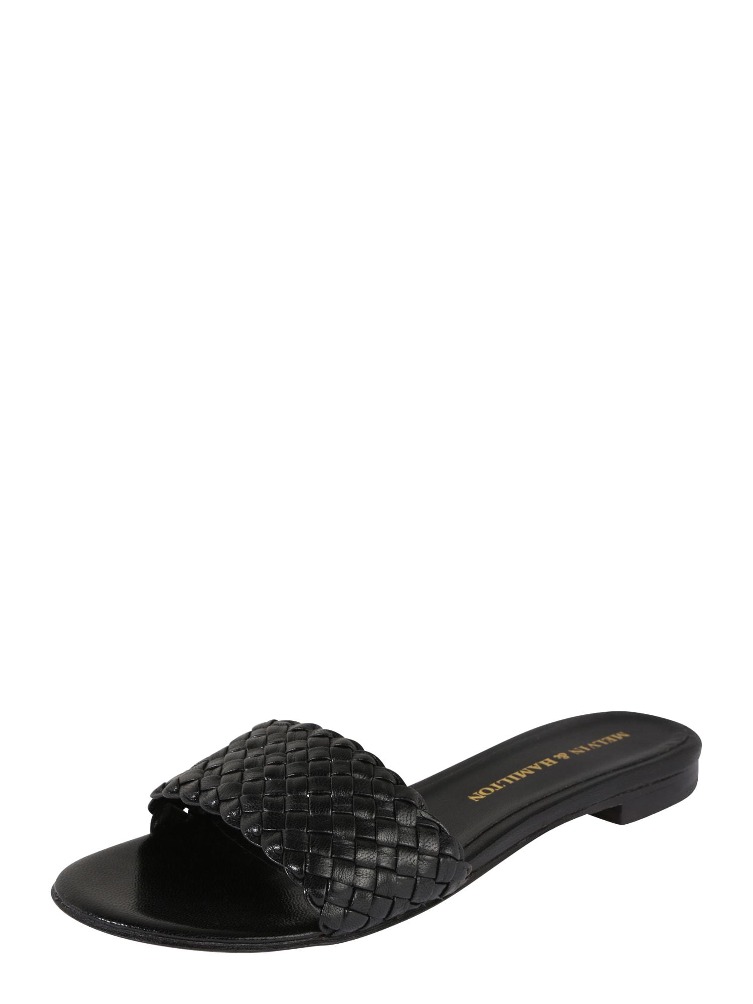 Pantofle Hanna 26 černá MELVIN & HAMILTON