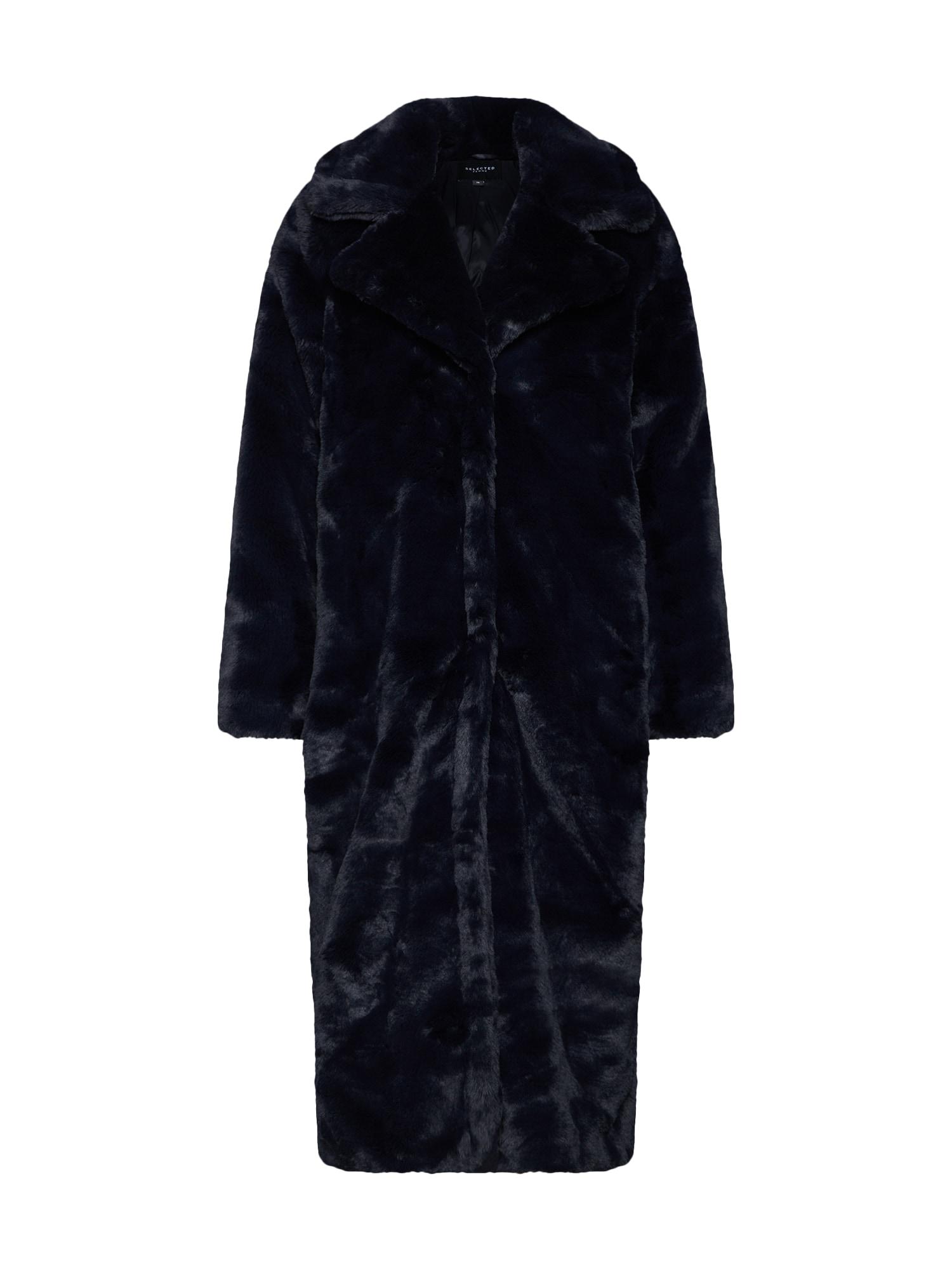 Zimní kabát tmavě modrá SELECTED FEMME