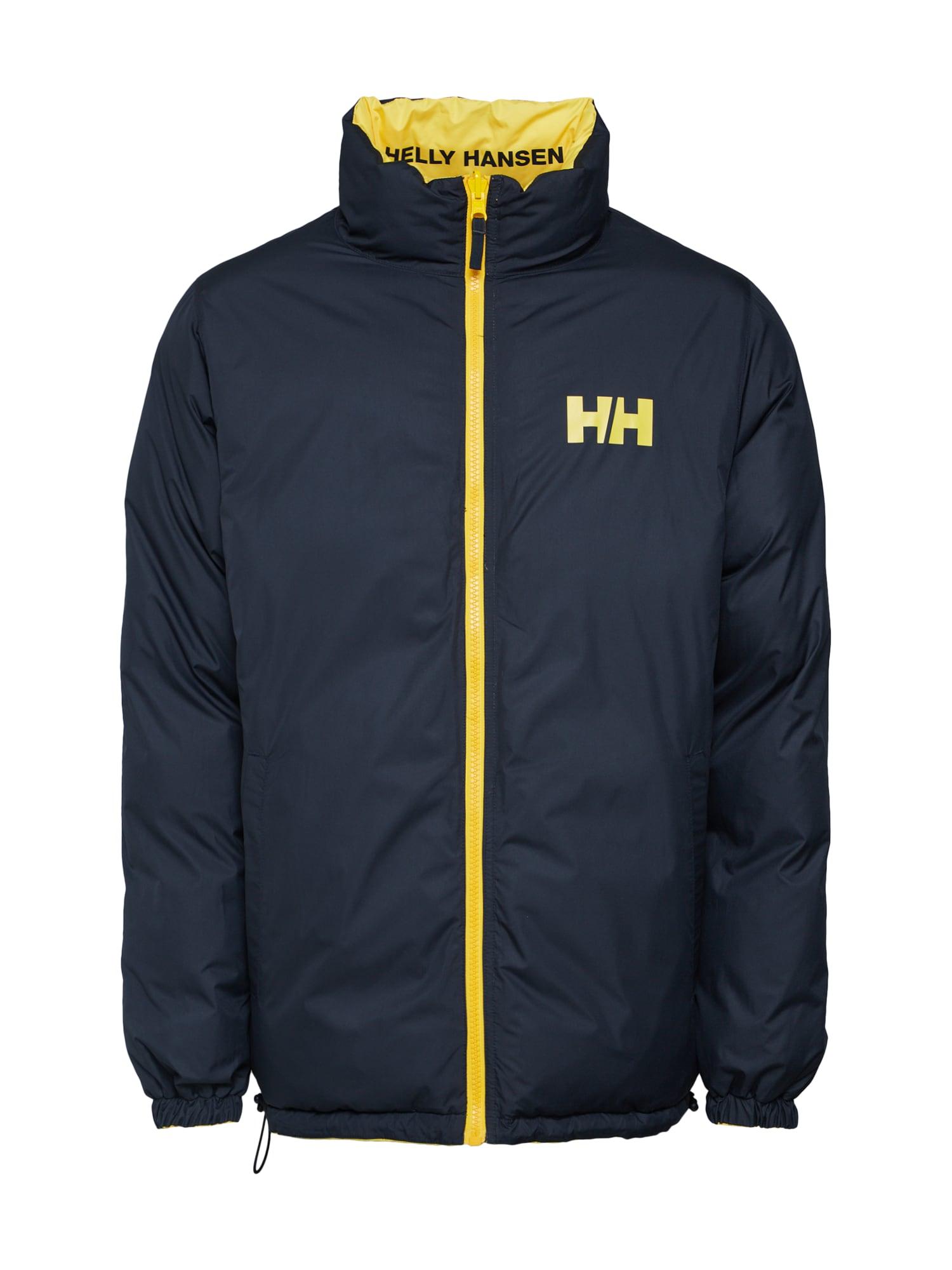 Zimní bunda HH URBAN REVERSIBLE JACKET tmavě modrá žlutá HELLY HANSEN