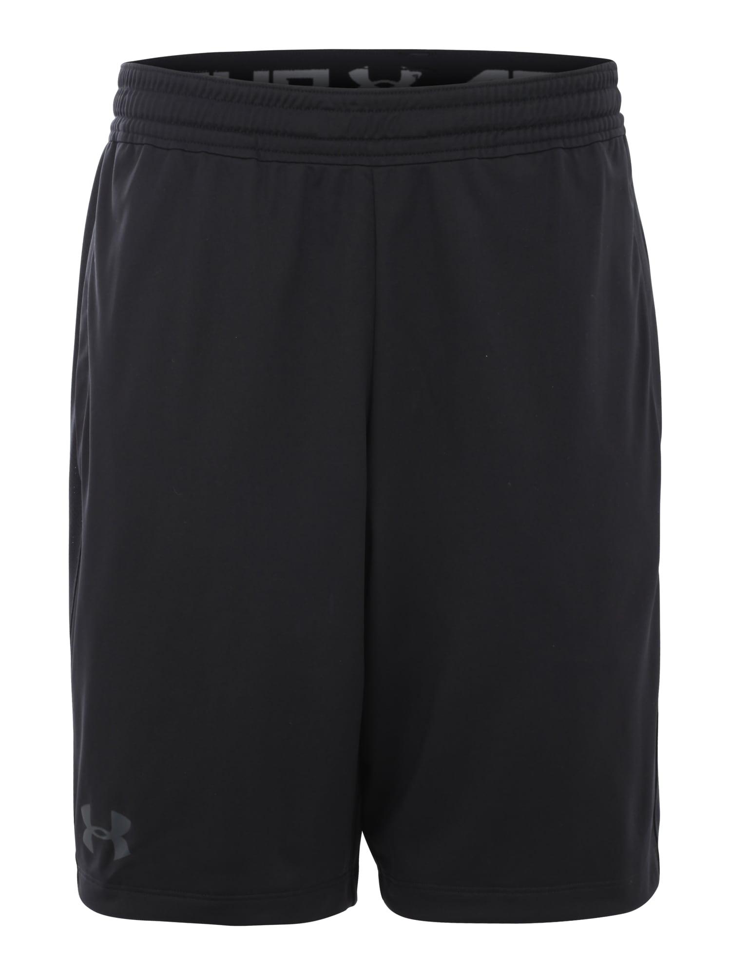 UNDER ARMOUR Sportovní kalhoty 'Raid 2.0'  černá