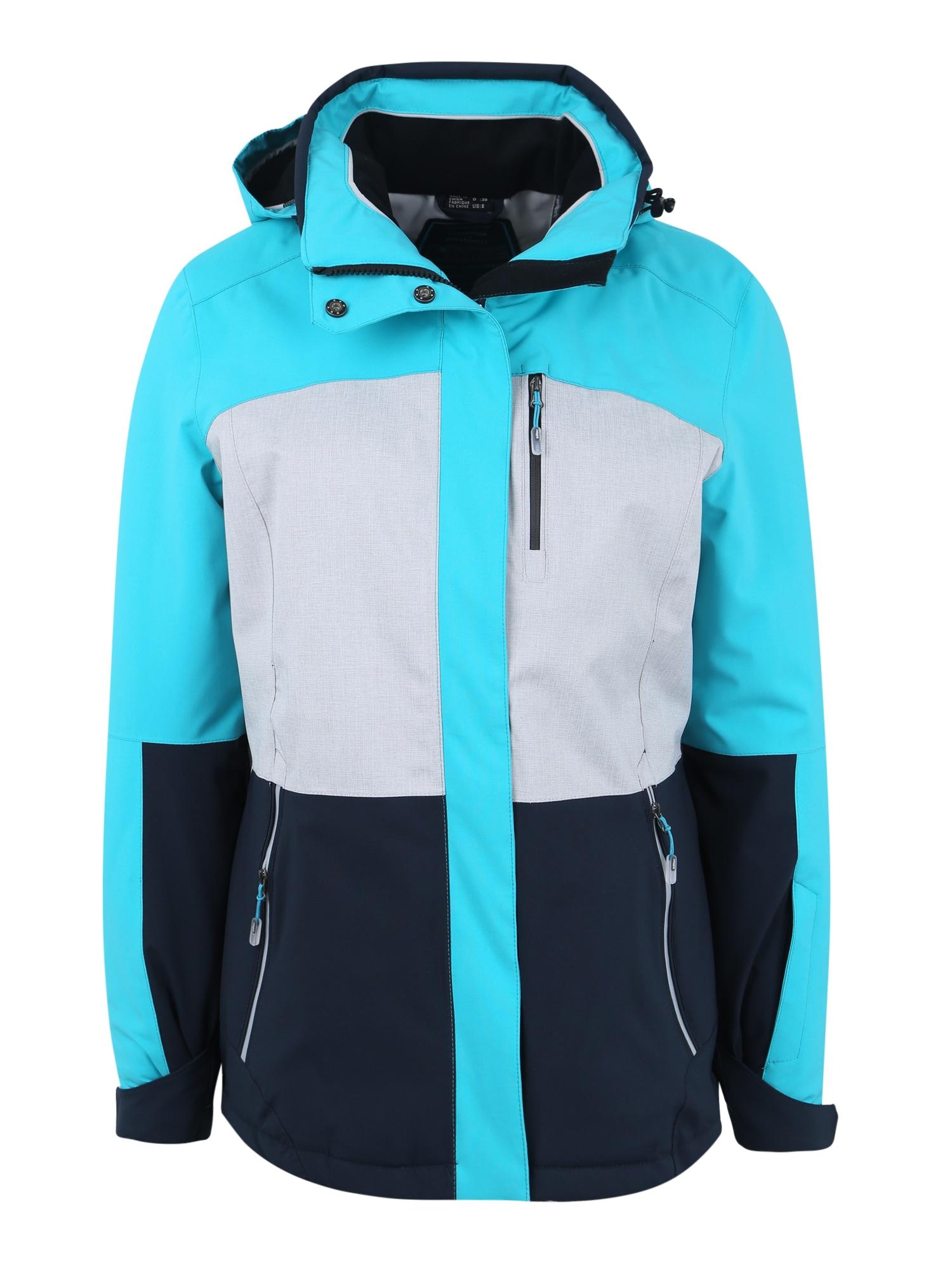Outdoorová bunda Sewia aqua modrá mix barev KILLTEC