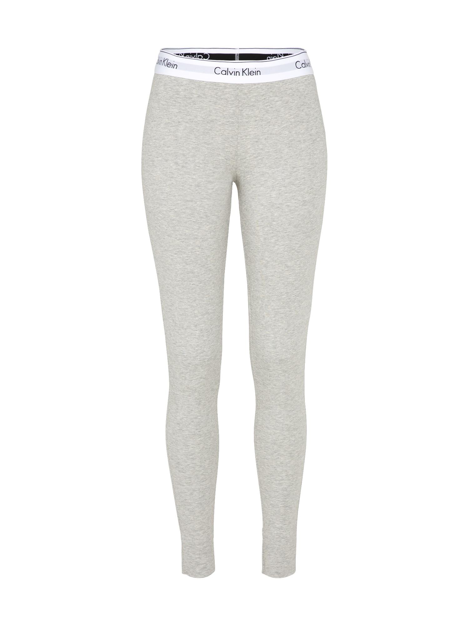 Pyžamové kalhoty šedý melír Calvin Klein Underwear