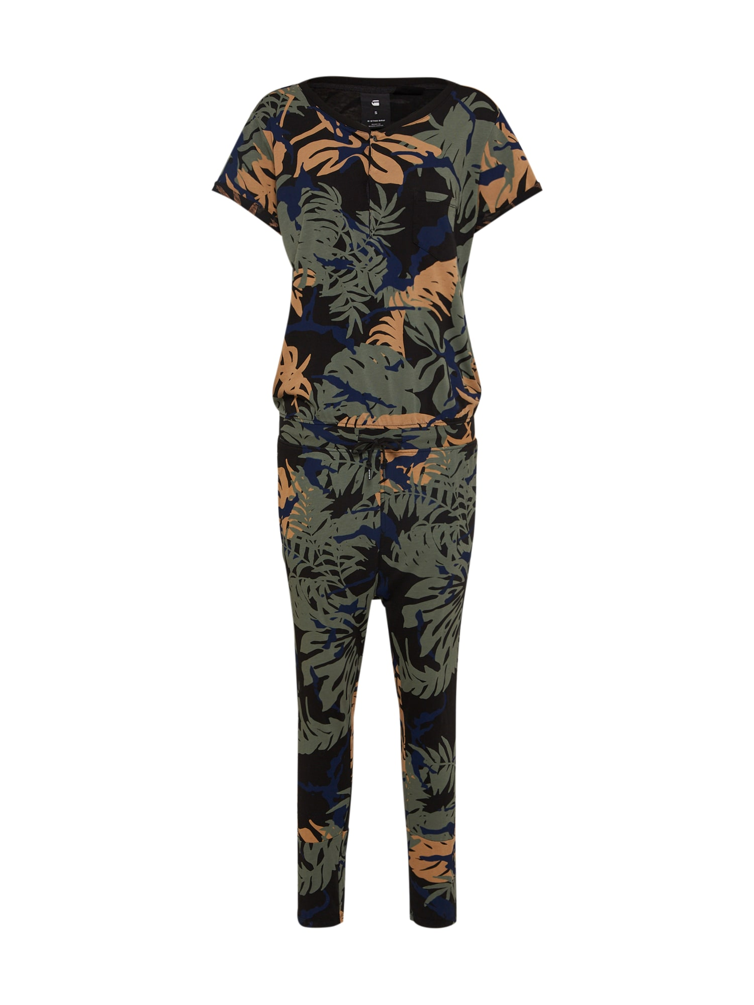 G-STAR RAW Dames Jumpsuit Liffy nachtblauw