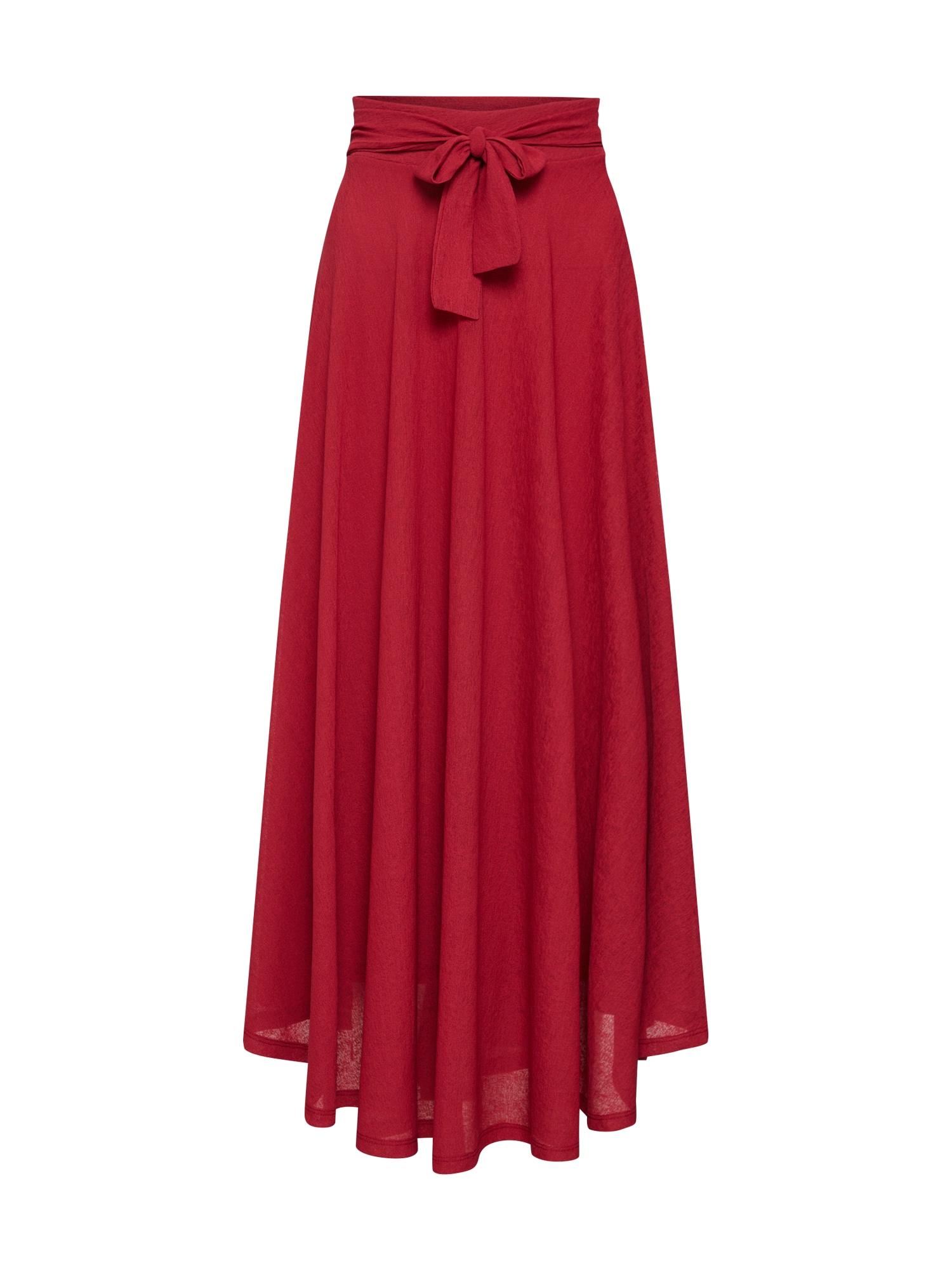 Sukně červená ESPRIT