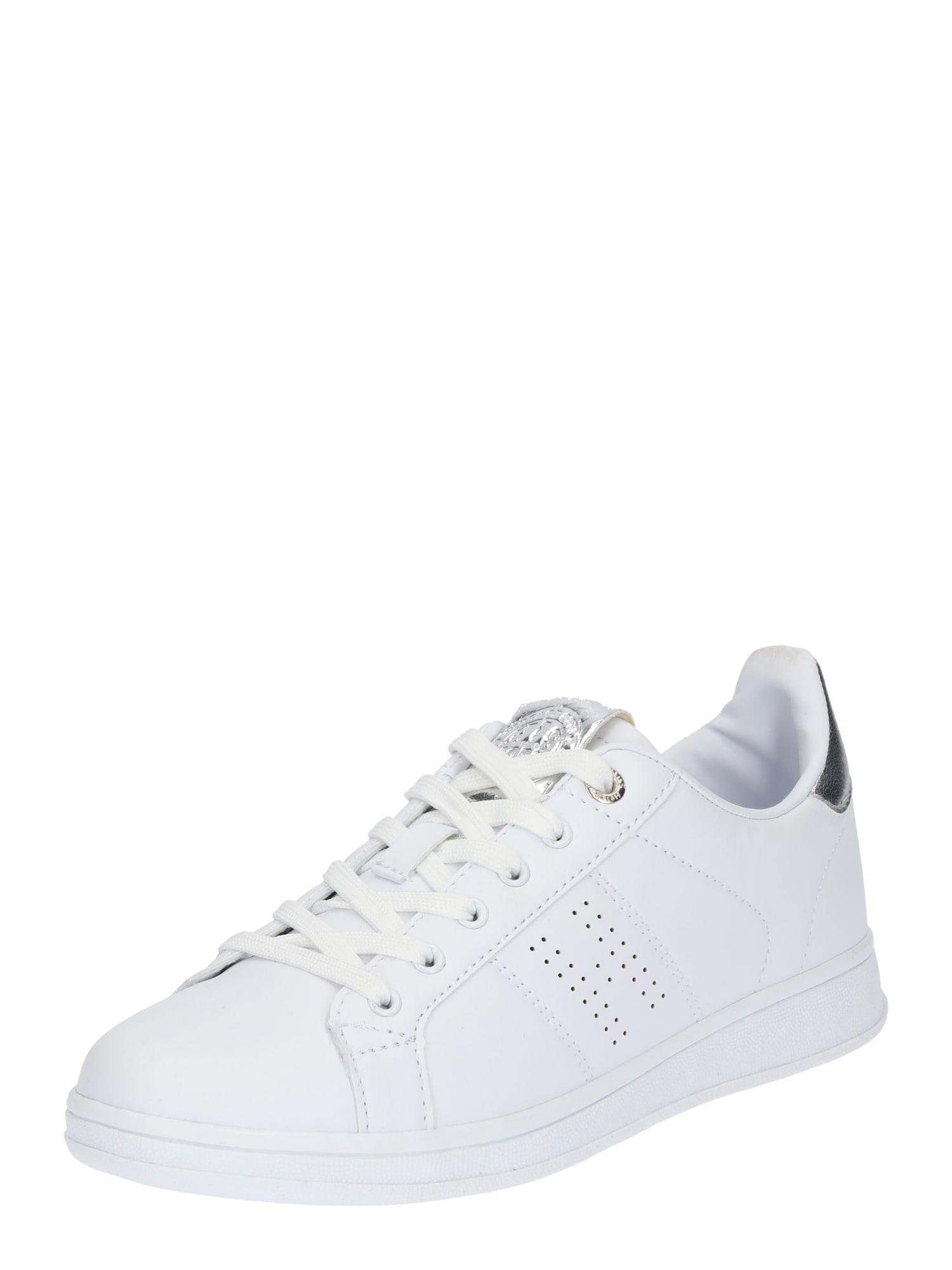 Tenisky stříbrná bílá H.I.S