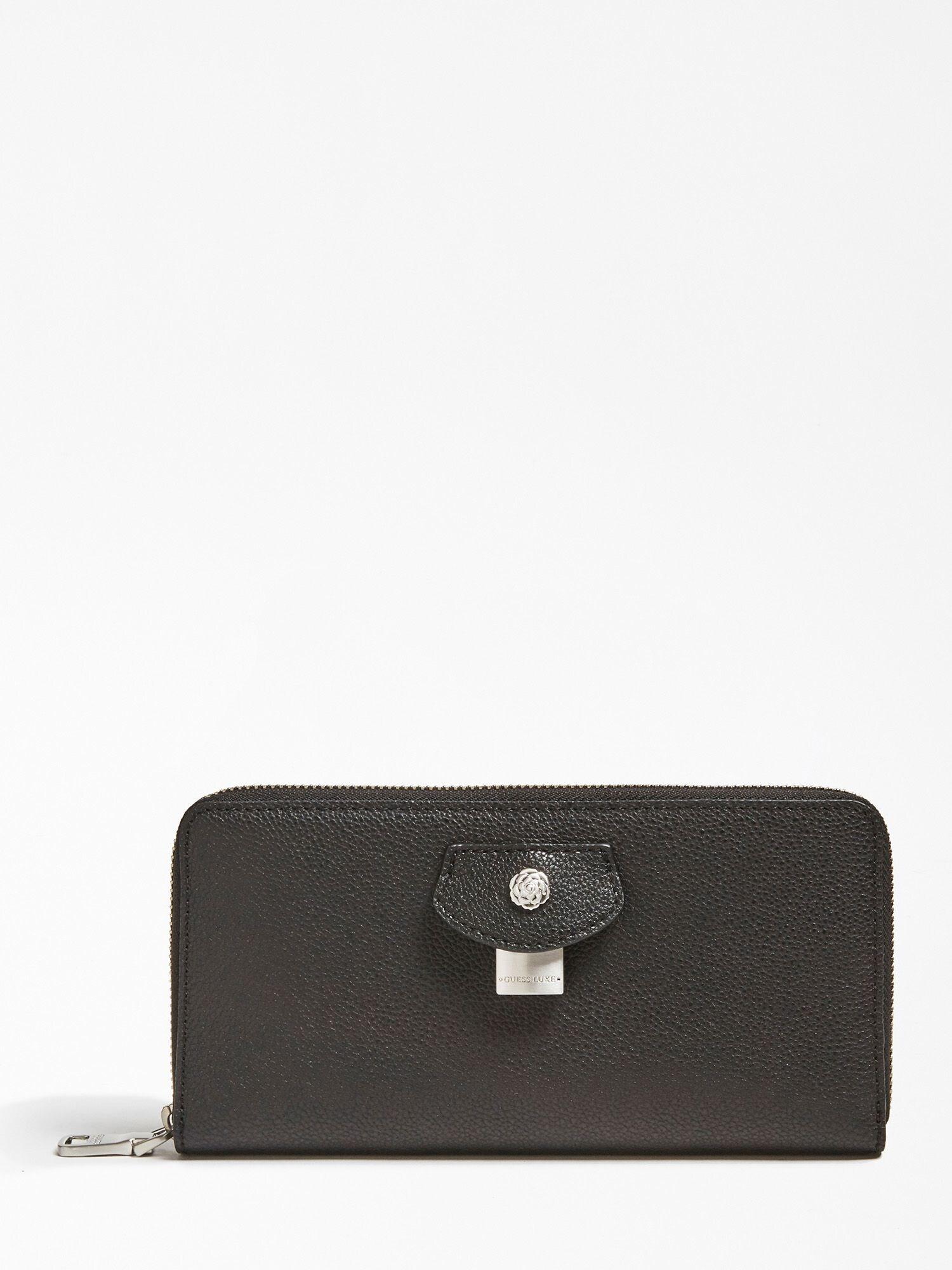 Brieftasche 'Olivia' | Accessoires > Portemonnaies > Brieftaschen | Schwarz | Guess