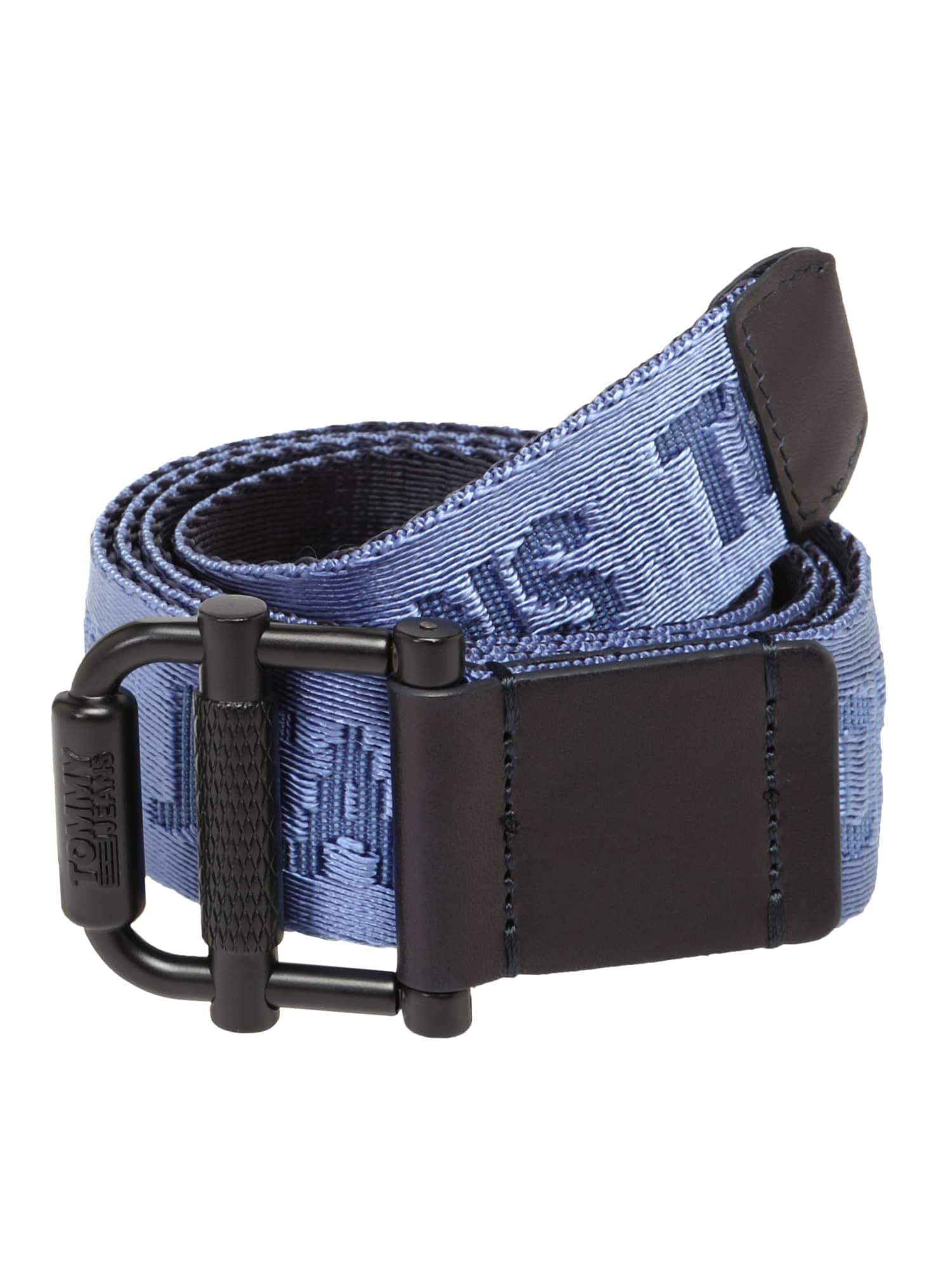 Opasek TJM ROLLER REV WEBBING BELT 3.5 modrá tmavě modrá Tommy Jeans