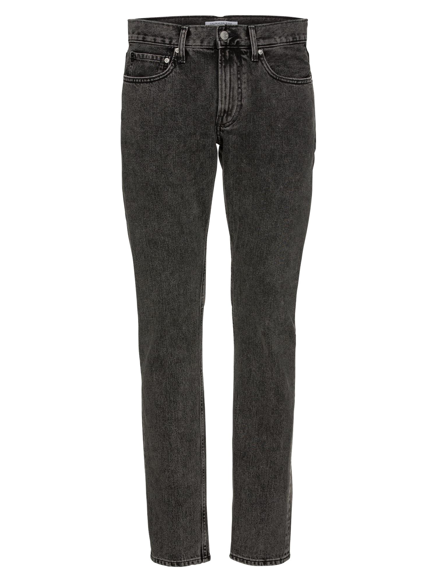 Džíny CKJ 026 SLIM  černá džínovina Calvin Klein Jeans