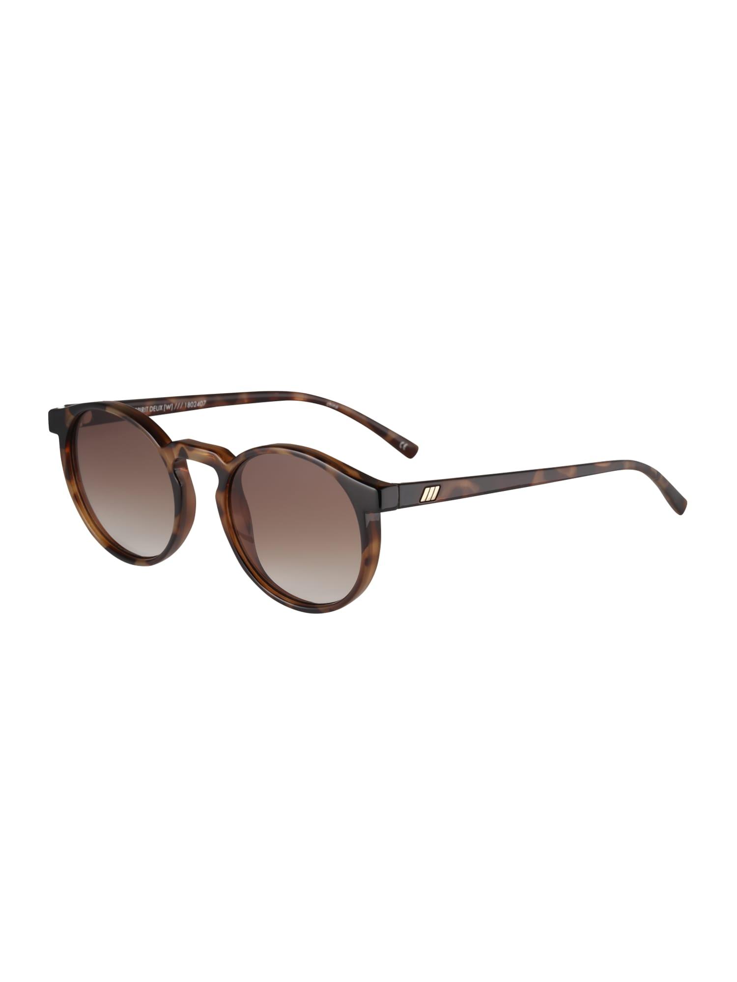 Sluneční brýle TEEN SPIRIT DEUX hnědá LE SPECS