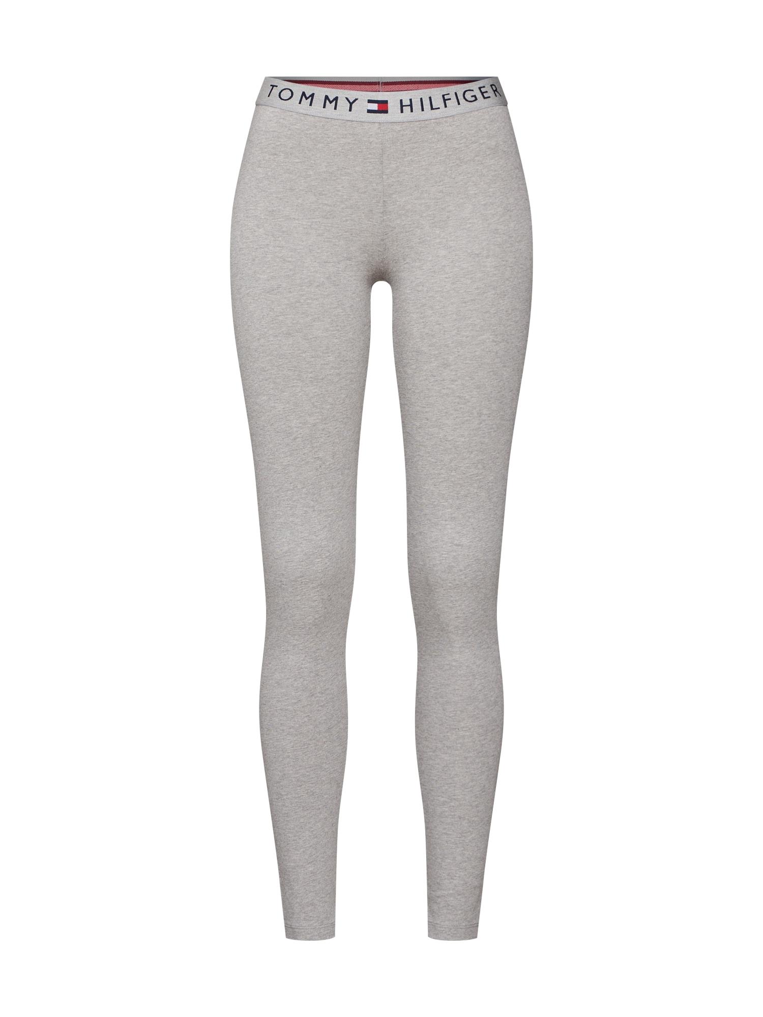 Pyžamové kalhoty šedý melír Tommy Hilfiger Underwear