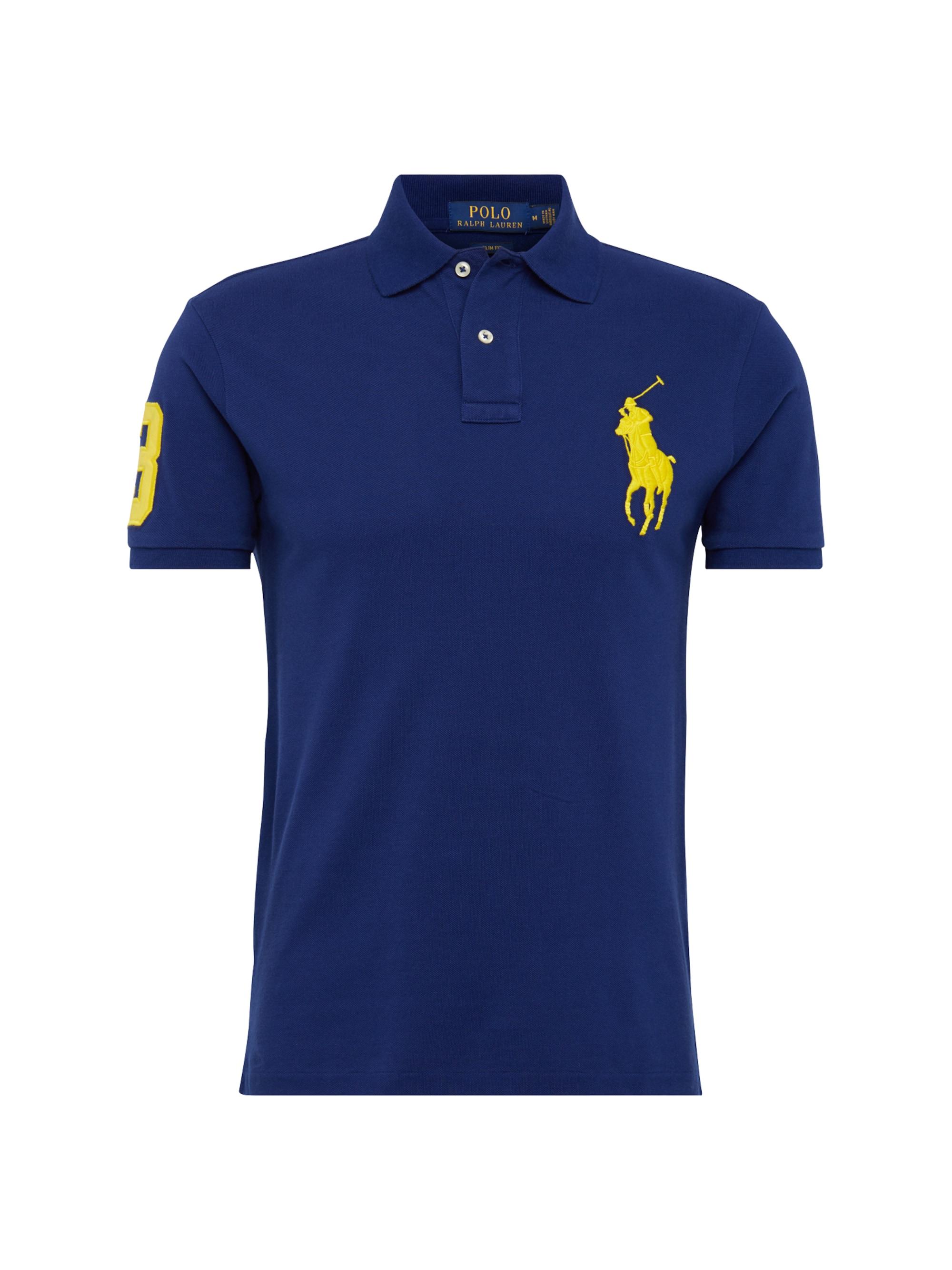 Image of POLO RALPH LAUREN, Heren Shirt SSKCBPSLMM1-SHORT SLEEVE-KNIT, royal blue/koningsblauw