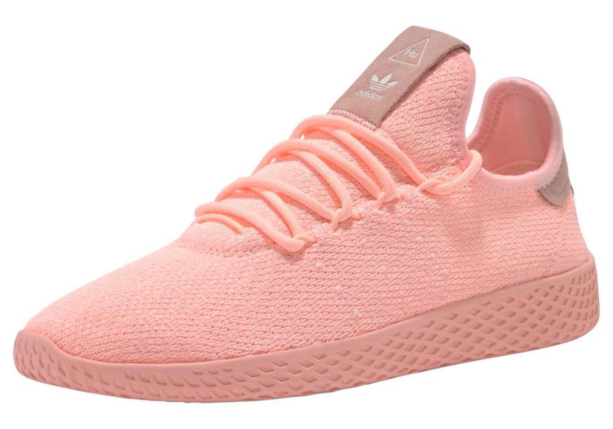 ADIDAS ORIGINALS, Dames Sneakers laag 'Pharrell Williams Tennis Hu', koraal