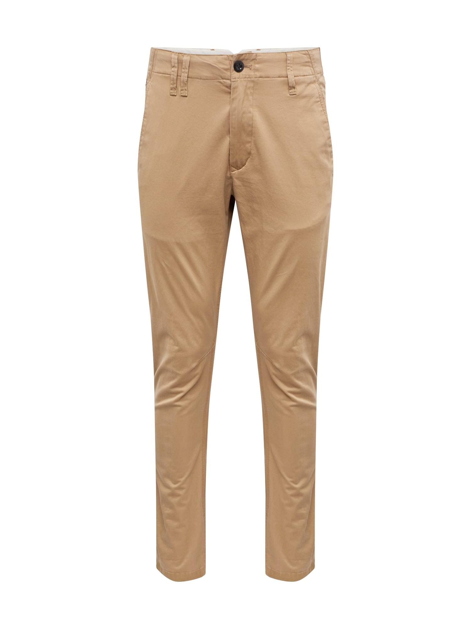 Chino kalhoty Vetar slim béžová G-STAR RAW