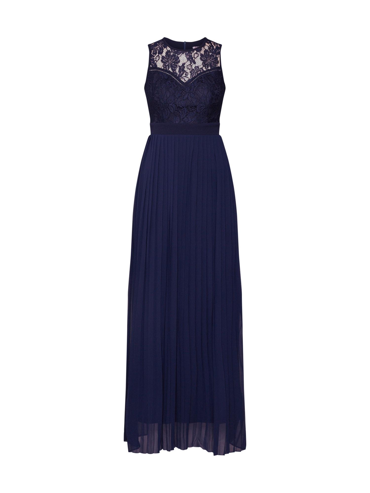 Společenské šaty CC0053 modrá WAL G.