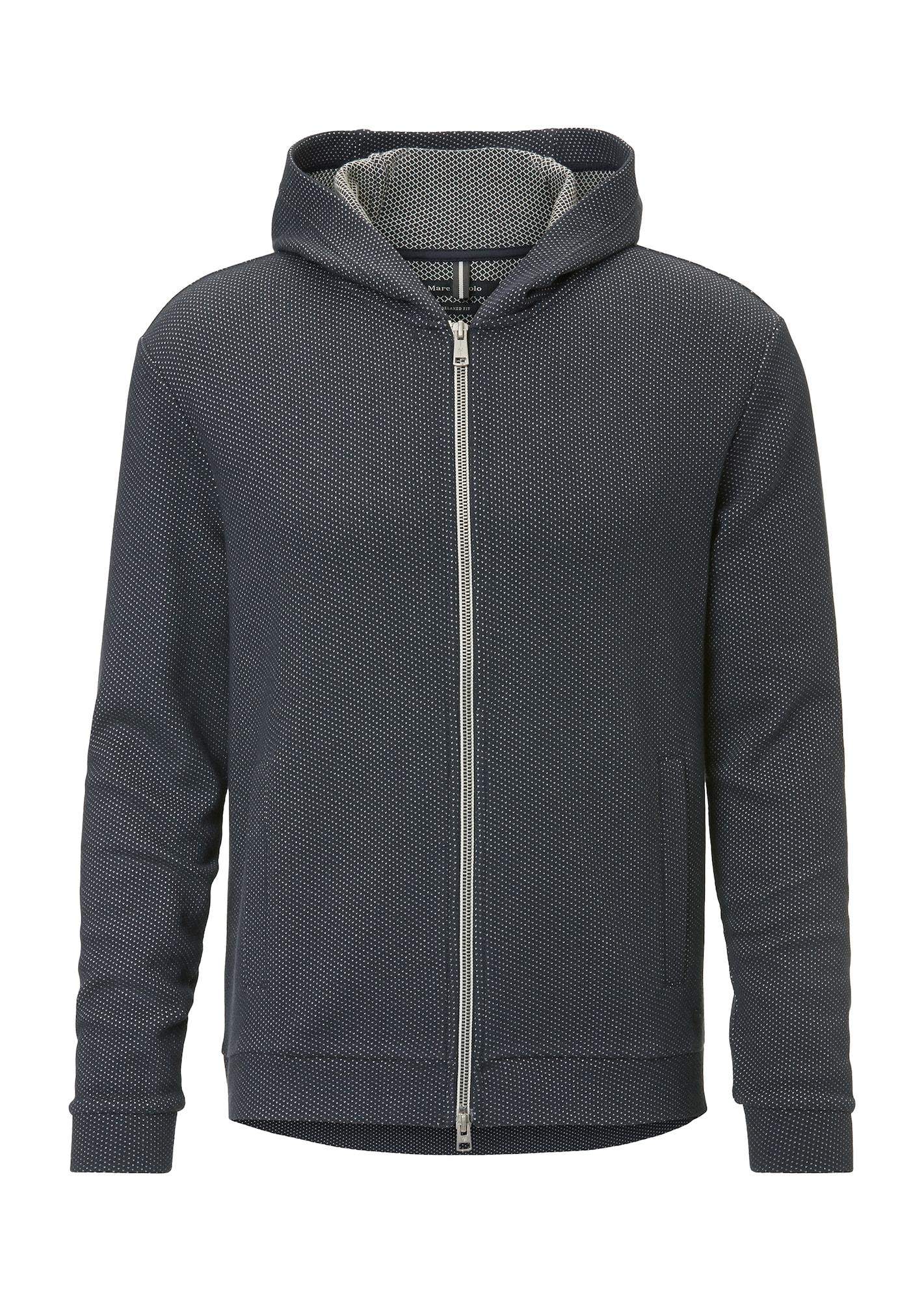 Sweatjacke | Bekleidung > Sweatshirts & -jacken > Sweatjacken | Schwarz - Weiß | Marc O'Polo