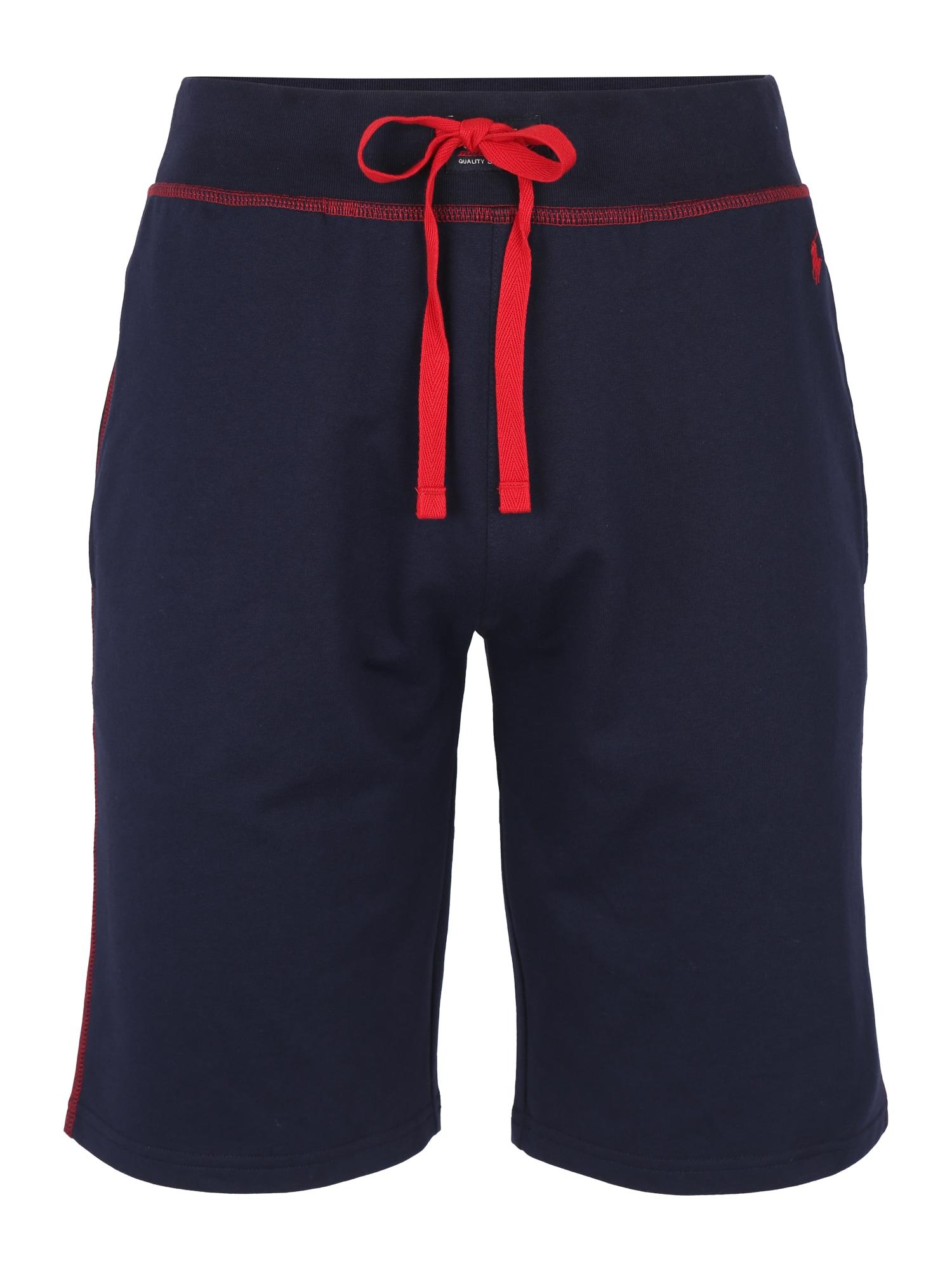 Pyžamové kalhoty námořnická modř červená POLO RALPH LAUREN