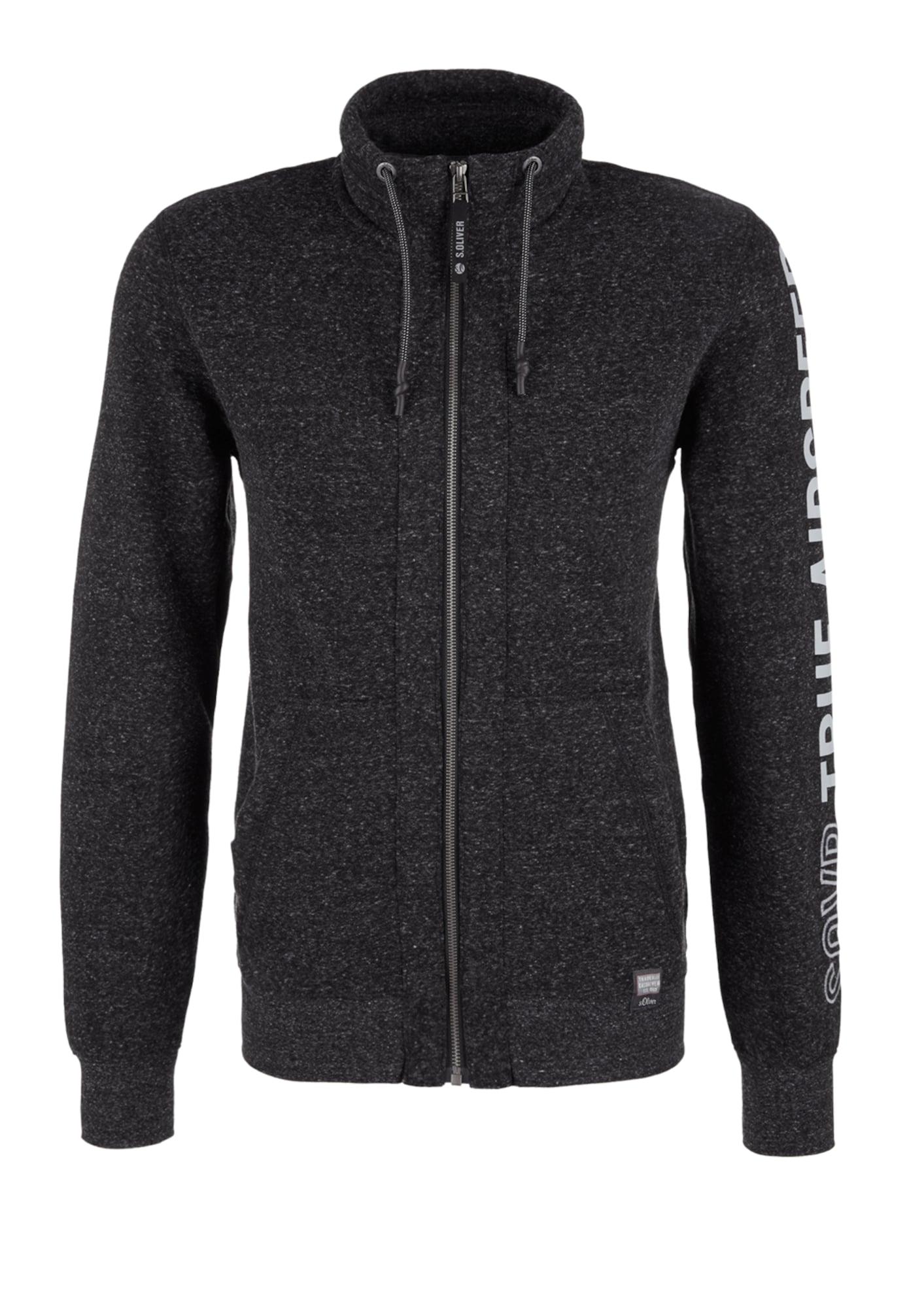 Sweatjacke | Bekleidung > Sweatshirts & -jacken > Sweatjacken | Weiß | S.Oliver