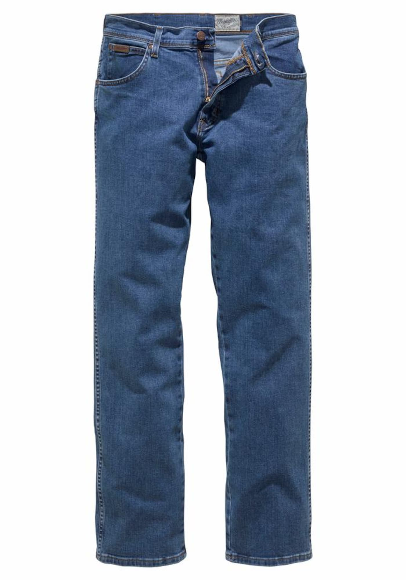 WRANGLER Heren Jeans Texas Stretch blauw