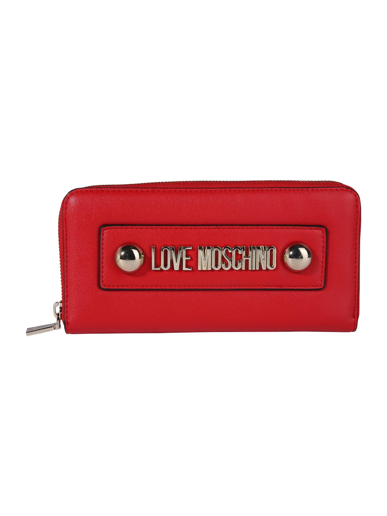 Peněženka červená Love Moschino