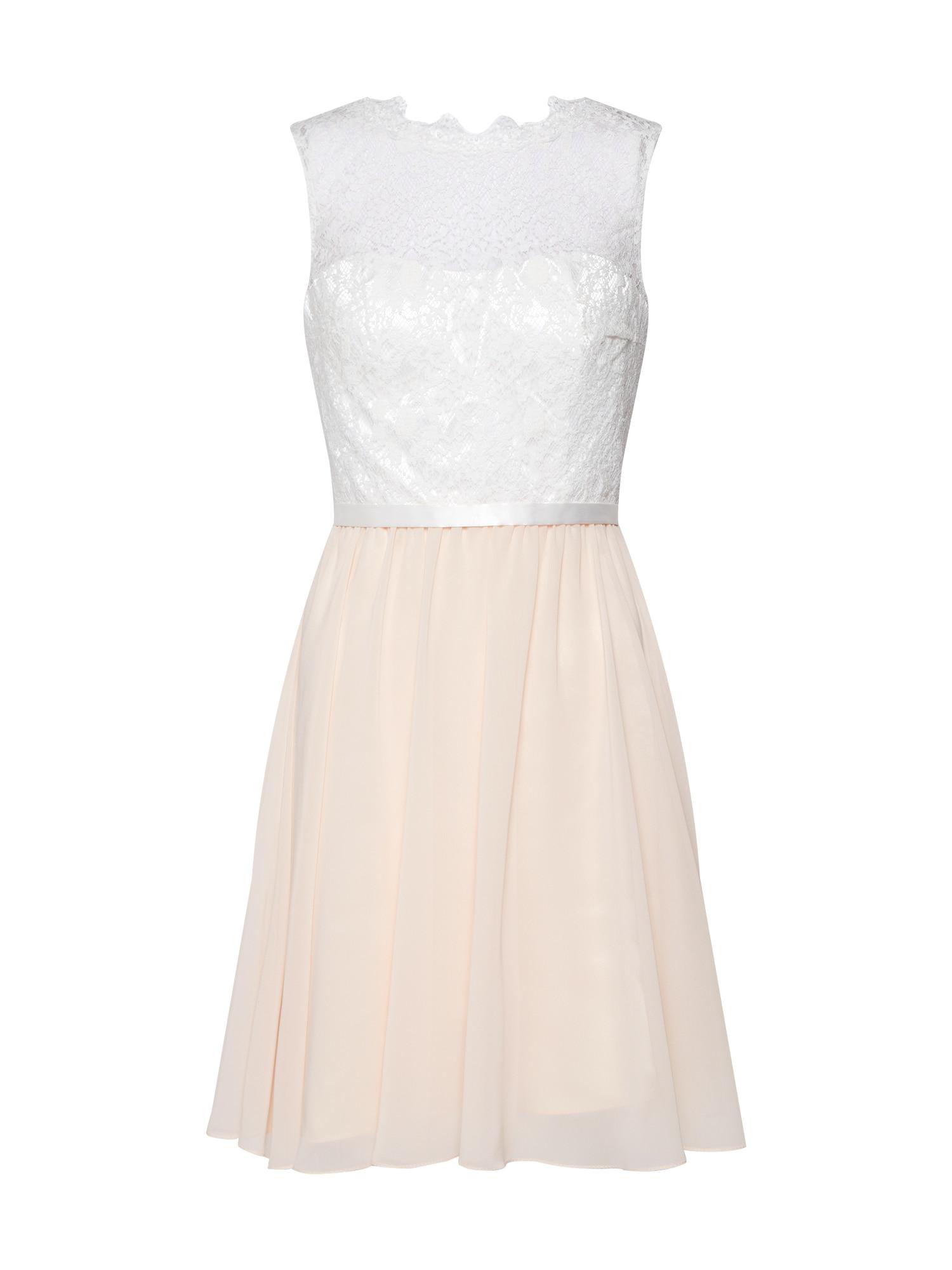 Laona Sukienka koktajlowa  różowy pudrowy / biały